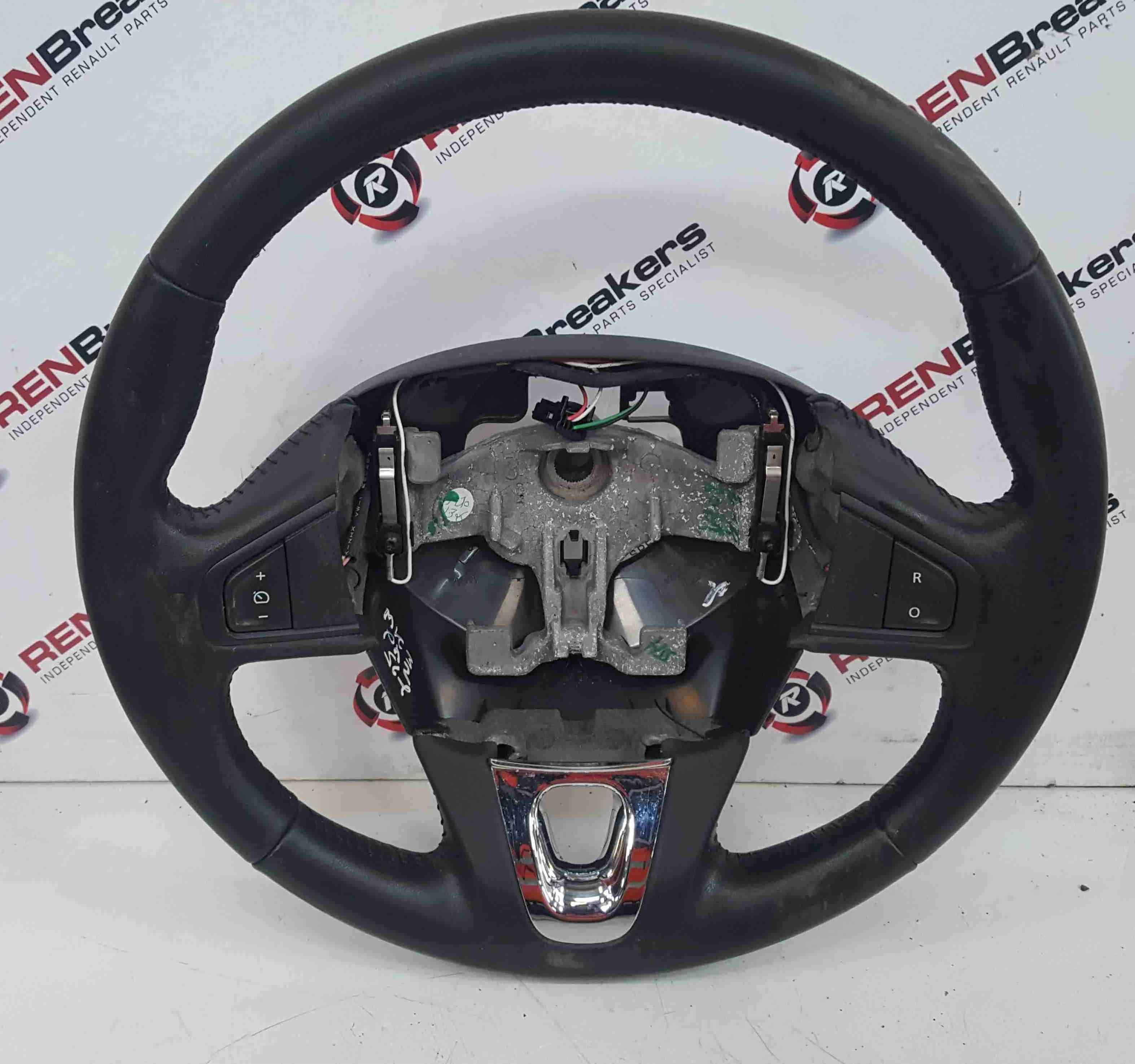 Renault Scenic MK3 2009-2016 Steering Wheel Chrome Insert Cruise 609581499