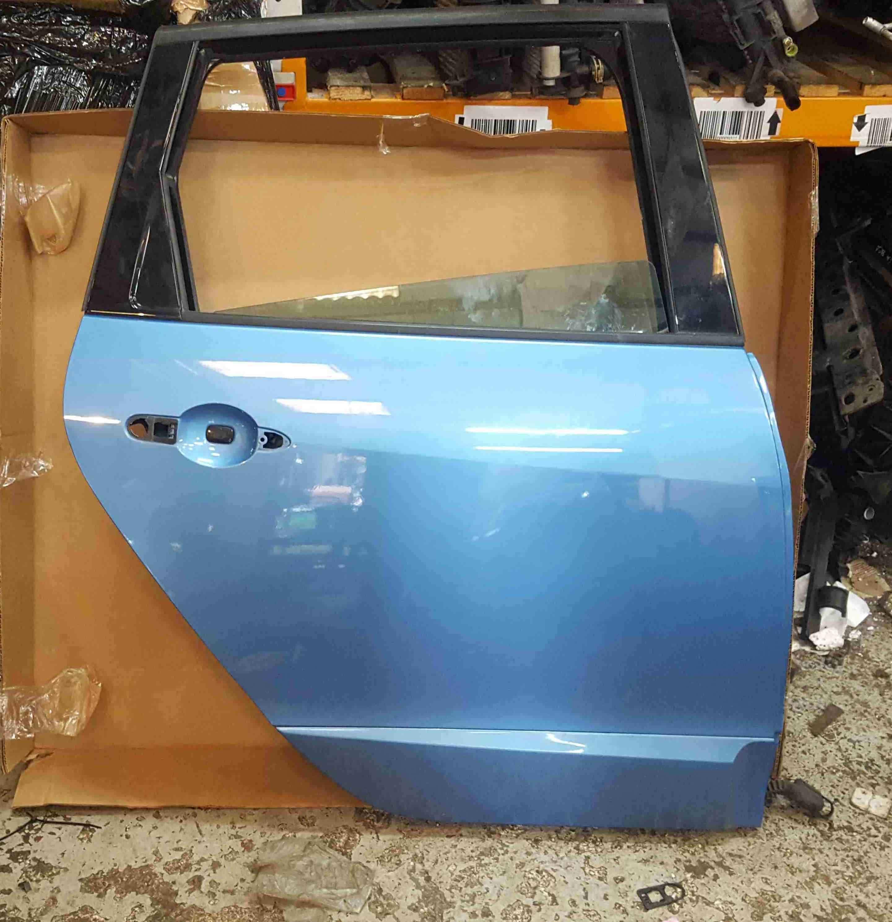 Renault Scenic MK3 2013-2016 Drivers OSR Rear Door Blue TERPB