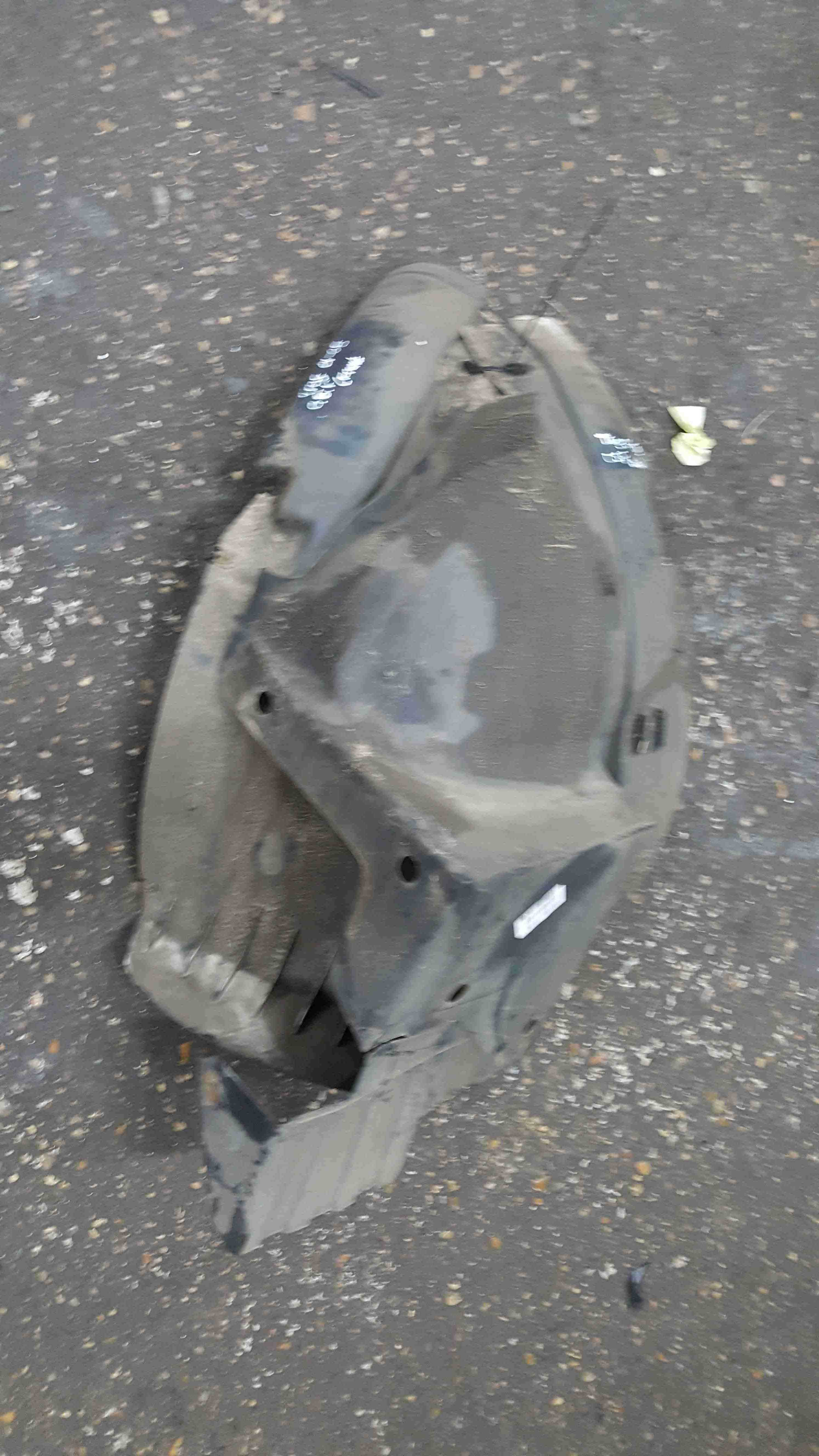 Renault Trafic 2001-2006 Drivers OSF Front Arch Liner Both Parts 8200291639