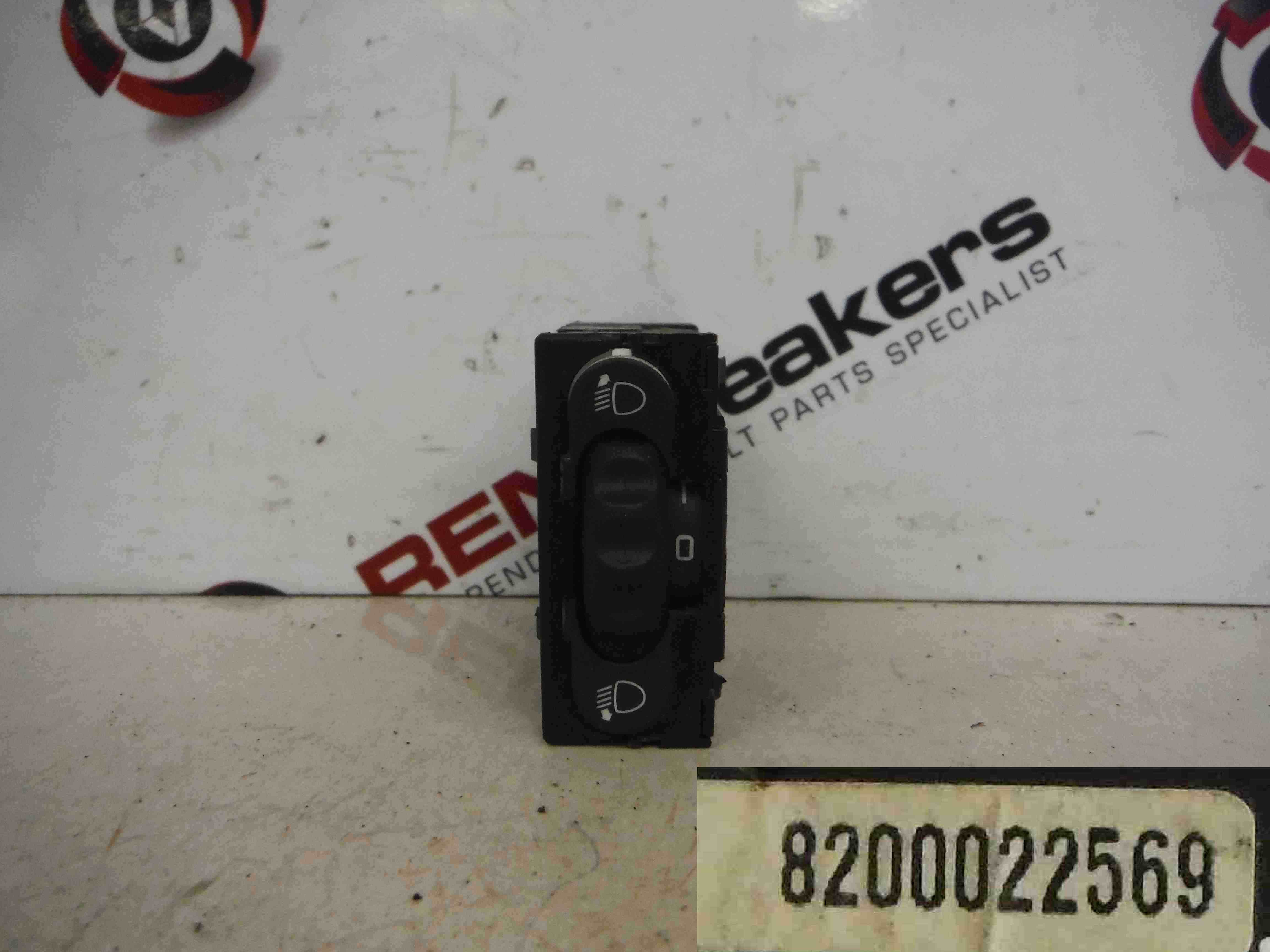 Renault Trafic 2001-2006 Headlight Height Adjuster Switch