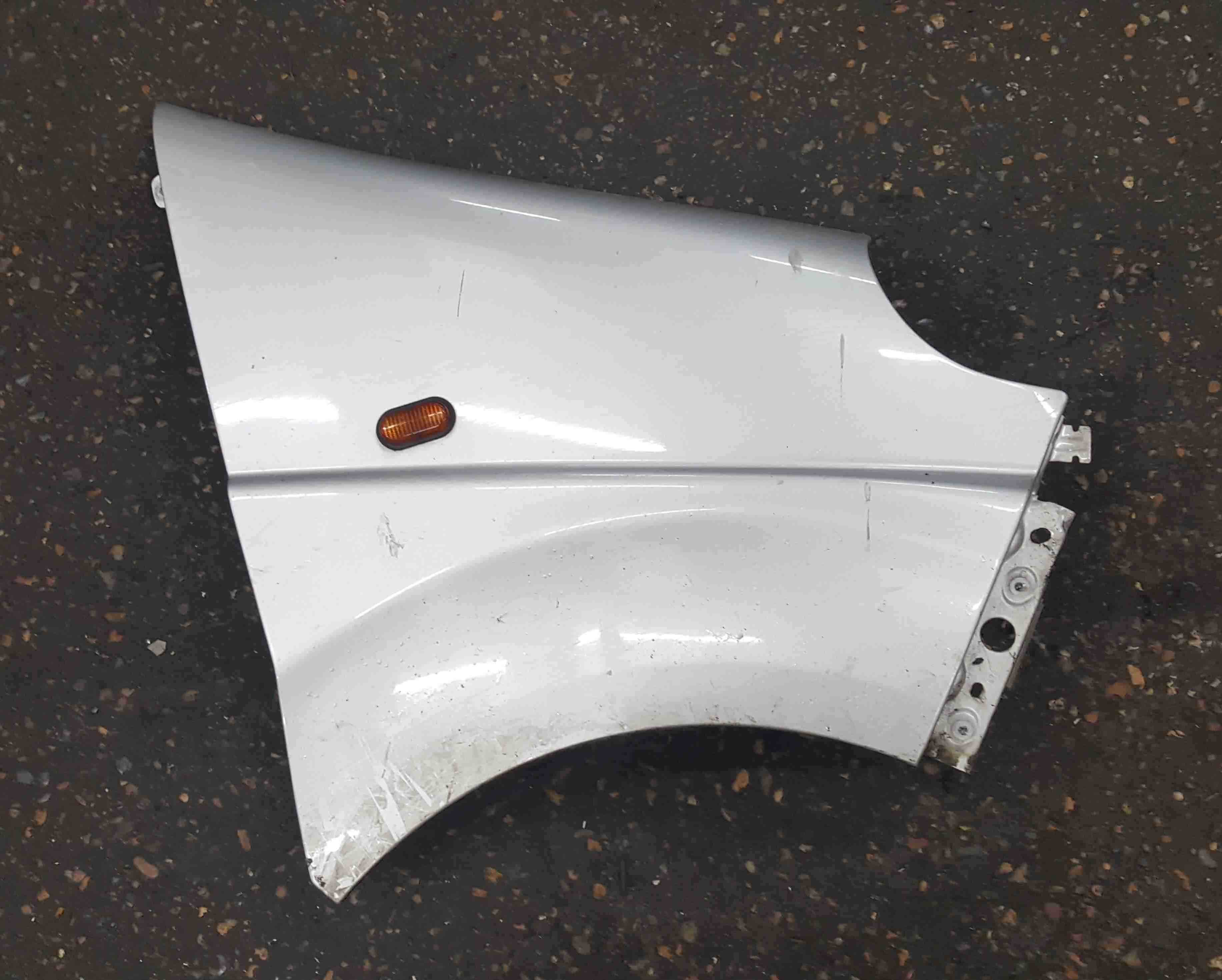 Renault Trafic 2006-2014 Drivers OS Wing Silver CMG64