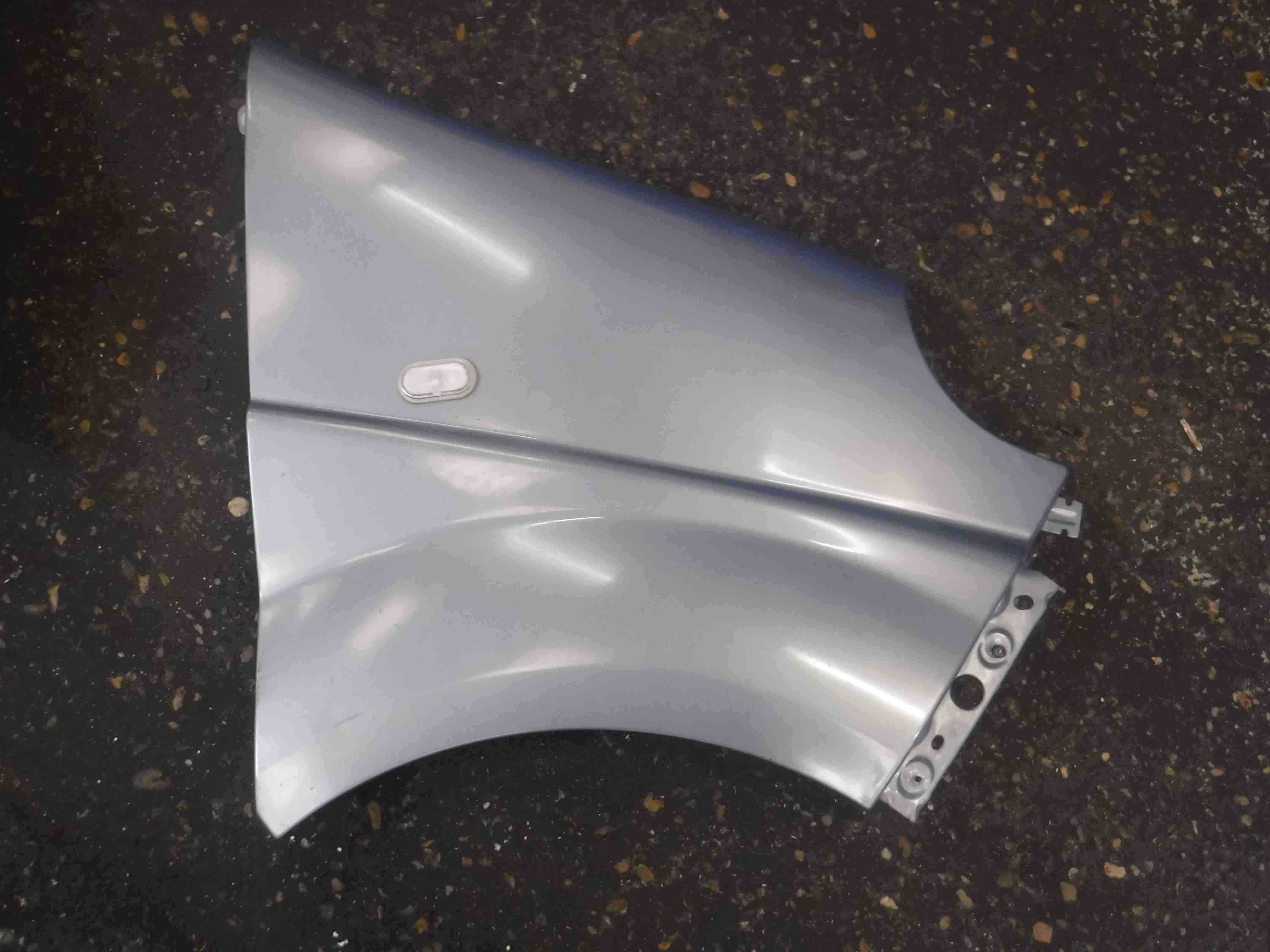 Renault Trafic MPV 2006-2014 Drivers OS Wing Silver Purple TED47