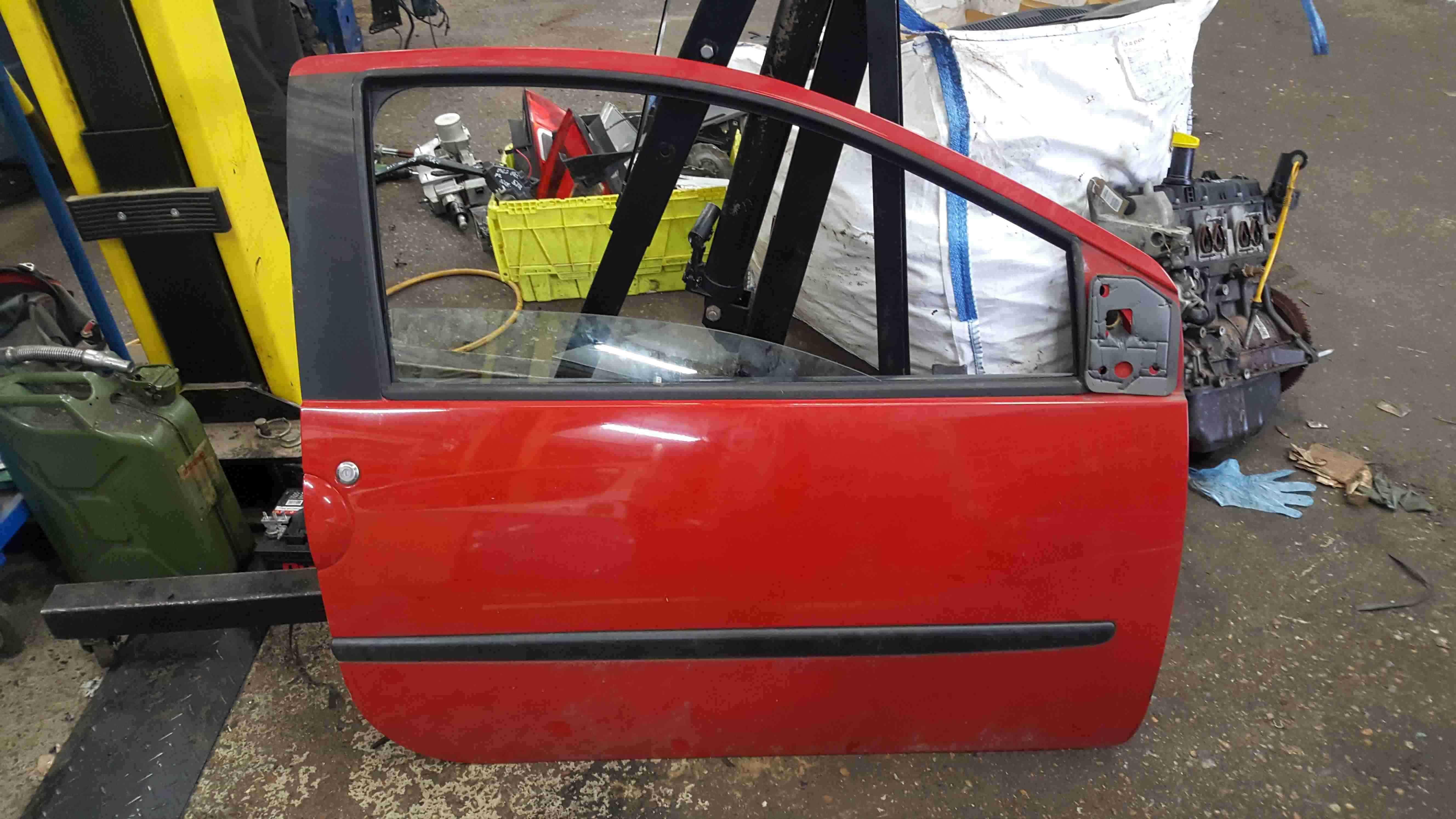 Renault Twingo 2007-2011 Drivers OSF Front Door Red OV727