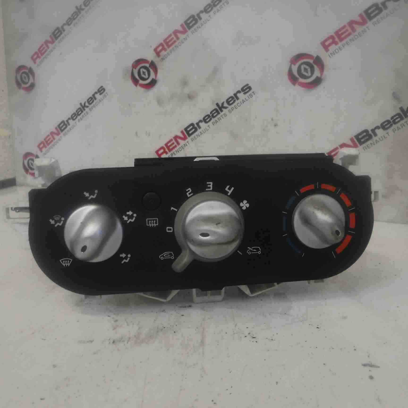 Renault Twingo 2007-2011 Heater Control Panel Switches Dials NO AIRCON 0991282C