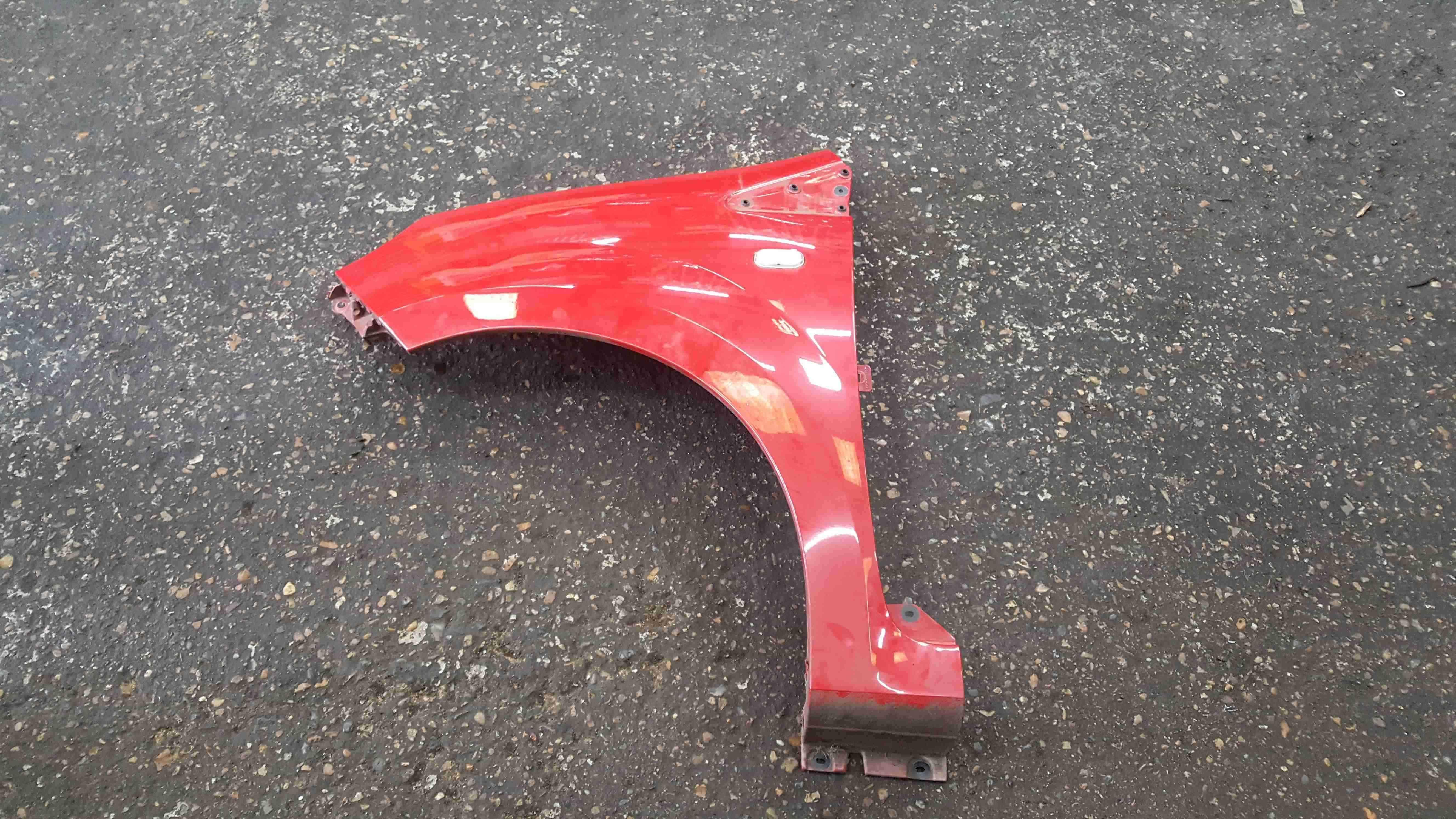Renault Twingo 2007-2011 Passenger NS Wing Red OV727