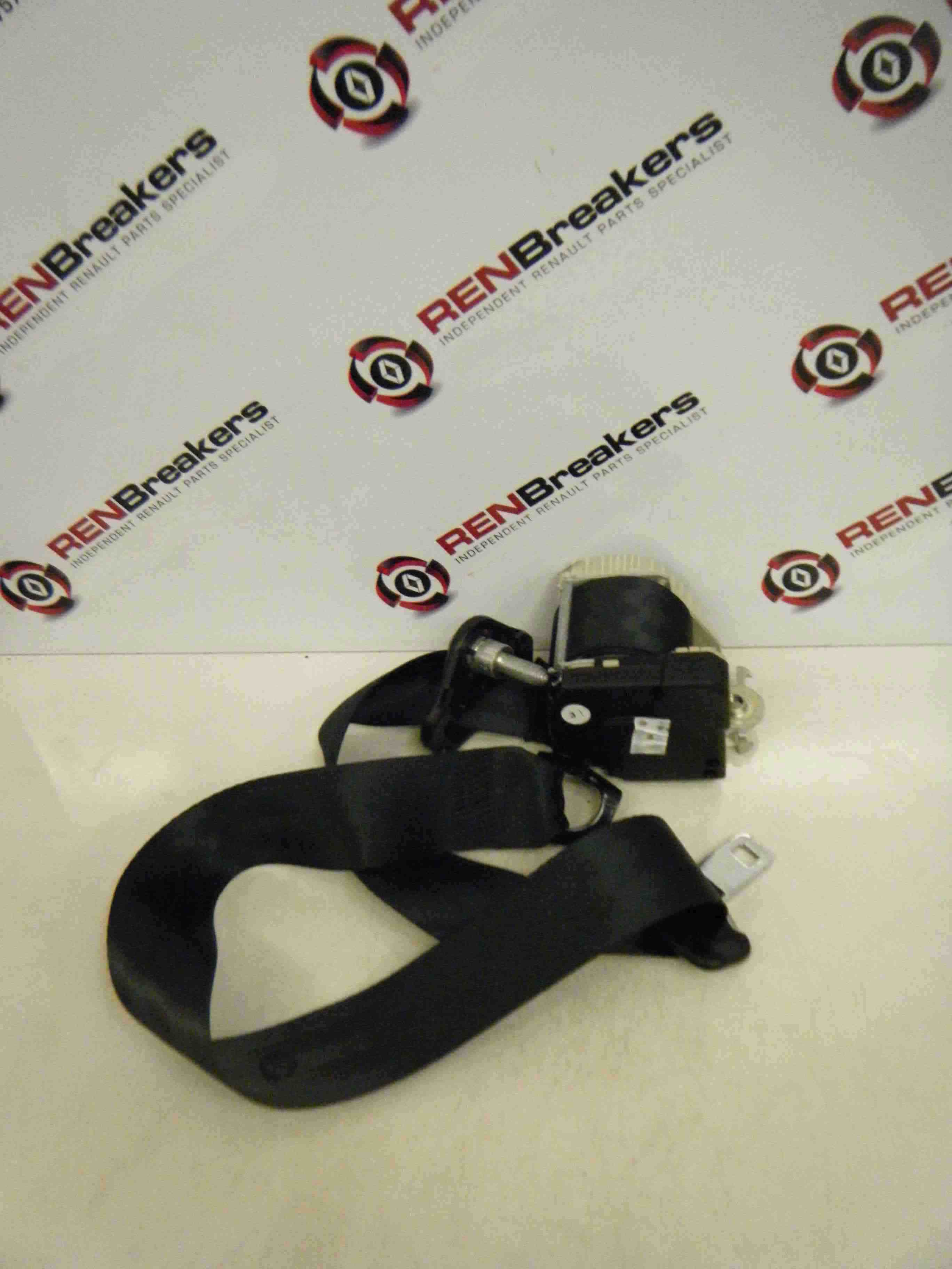 Renault Twingo 2007-2012 Drivers OSR Rear Seat Belt Black 3dr