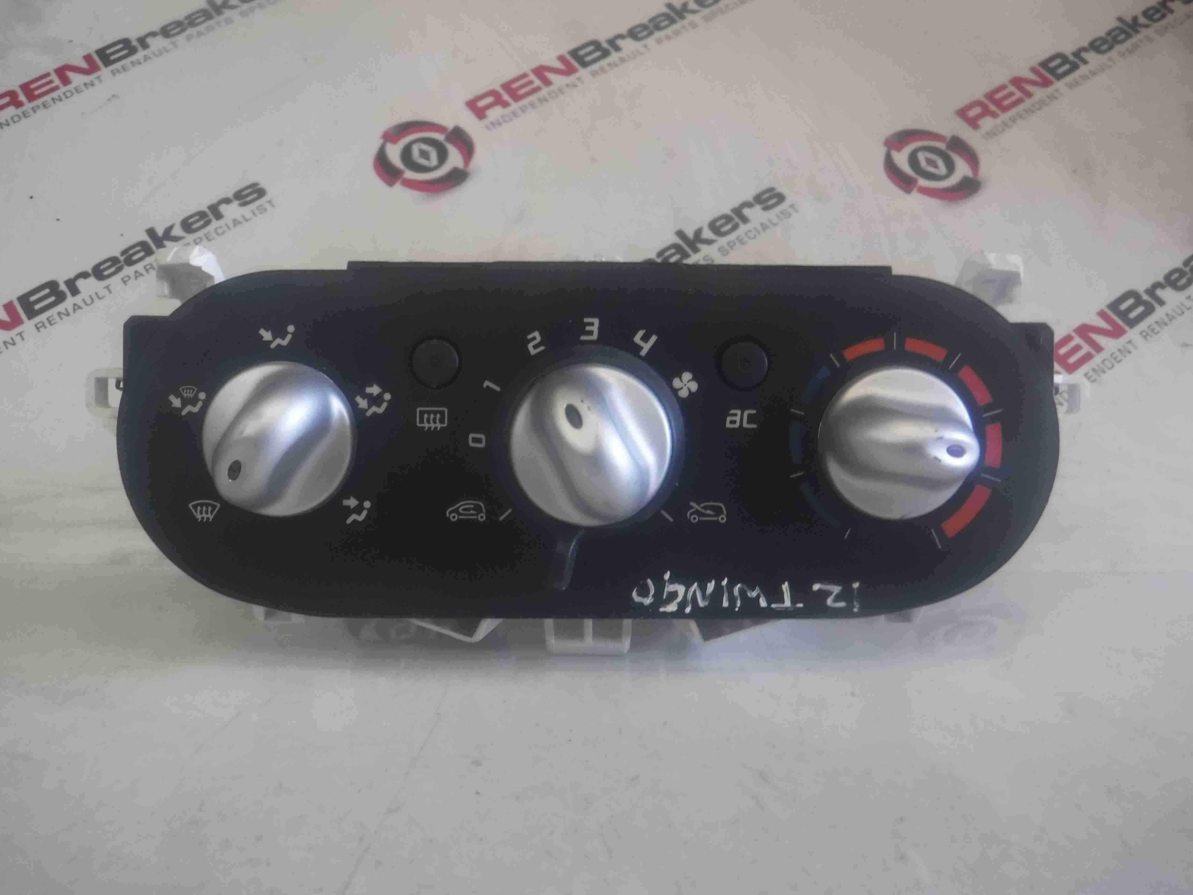 Renault Twingo 2011-2014 Heater Controls Dials