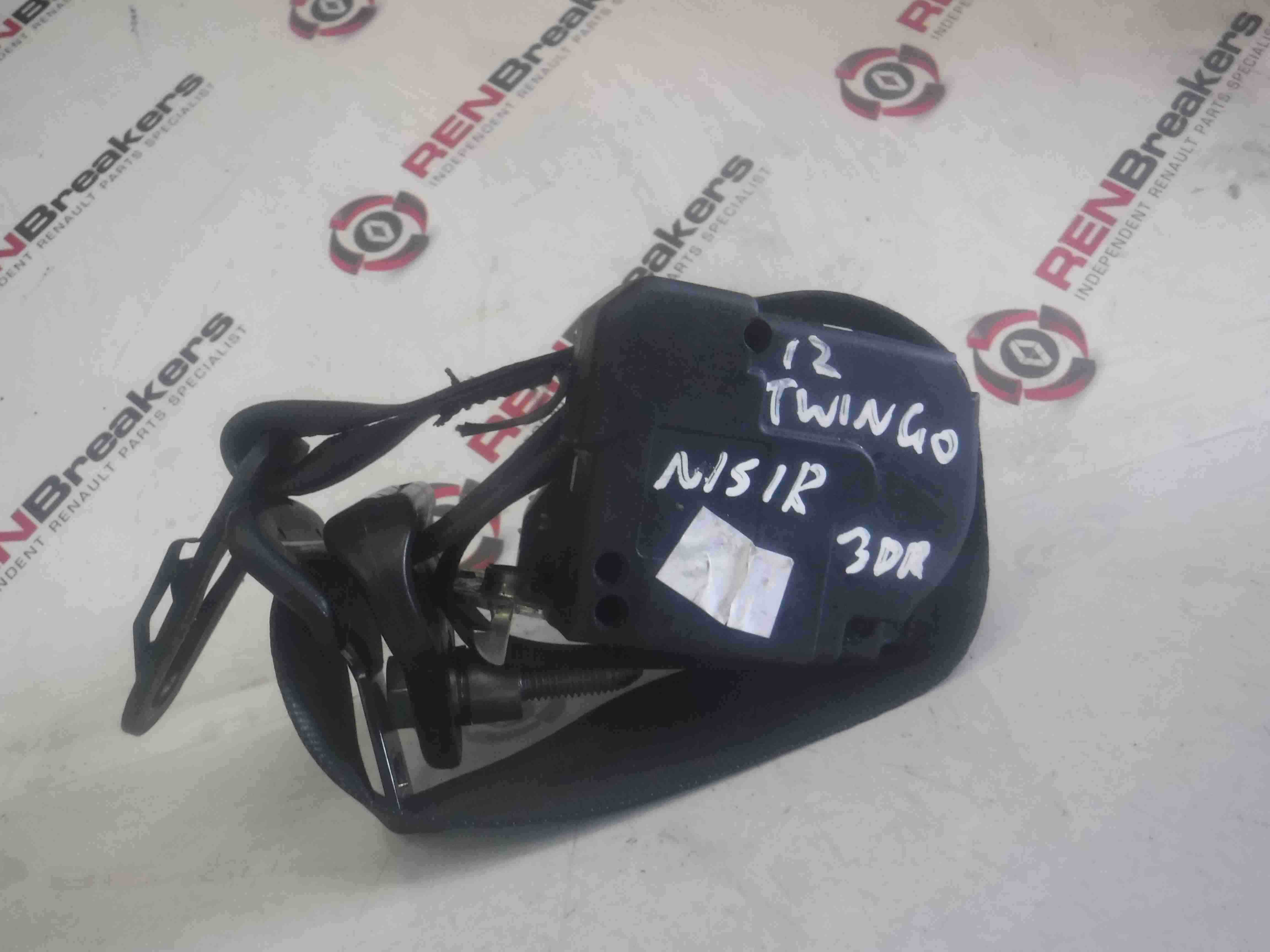 Renault Twingo 2011-2014 Passenger NSR Rear Seat Belt 3dr