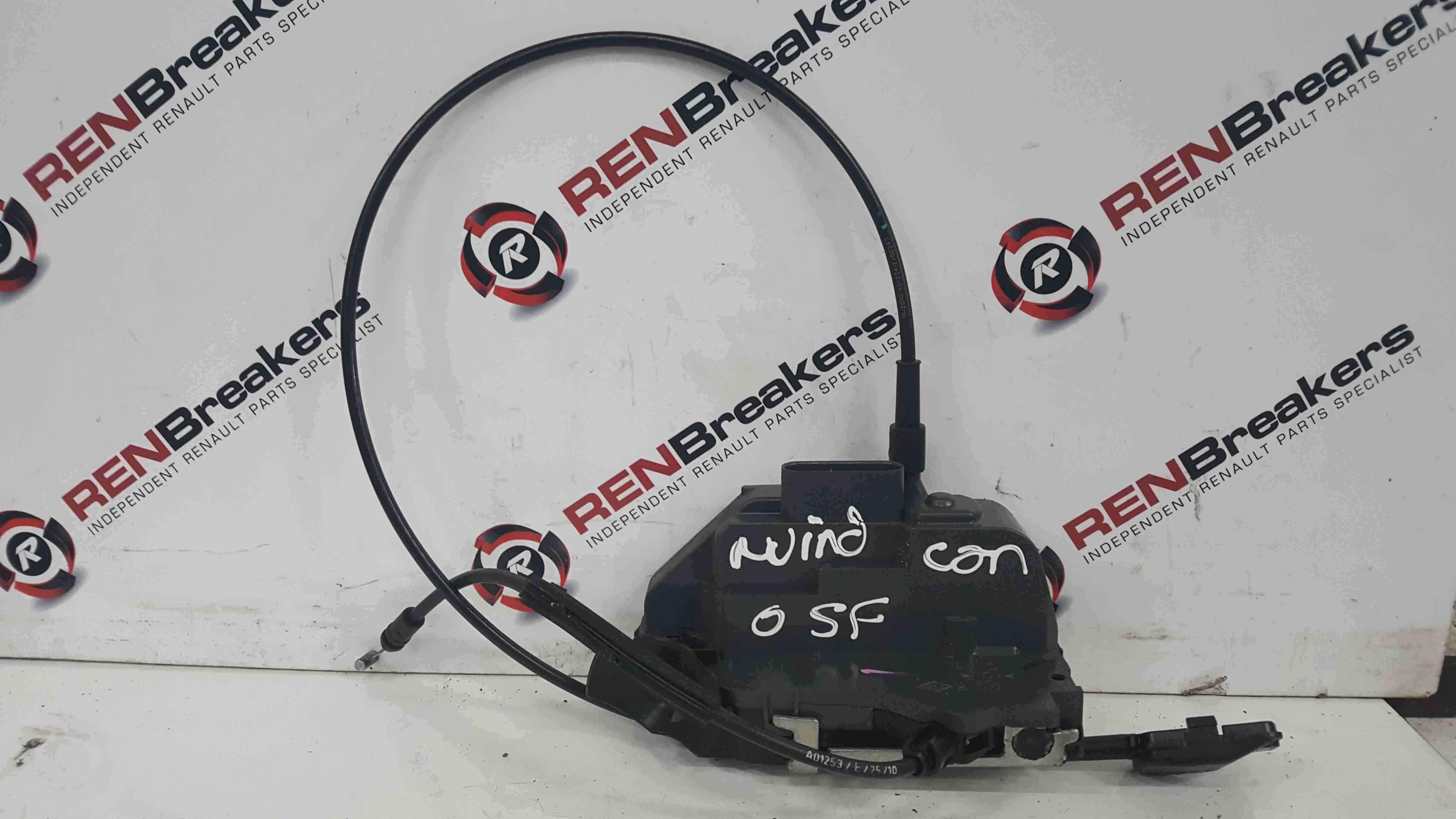 Renault Wind 2010-2013 Drivers OSF Front Door Lock Mechanism