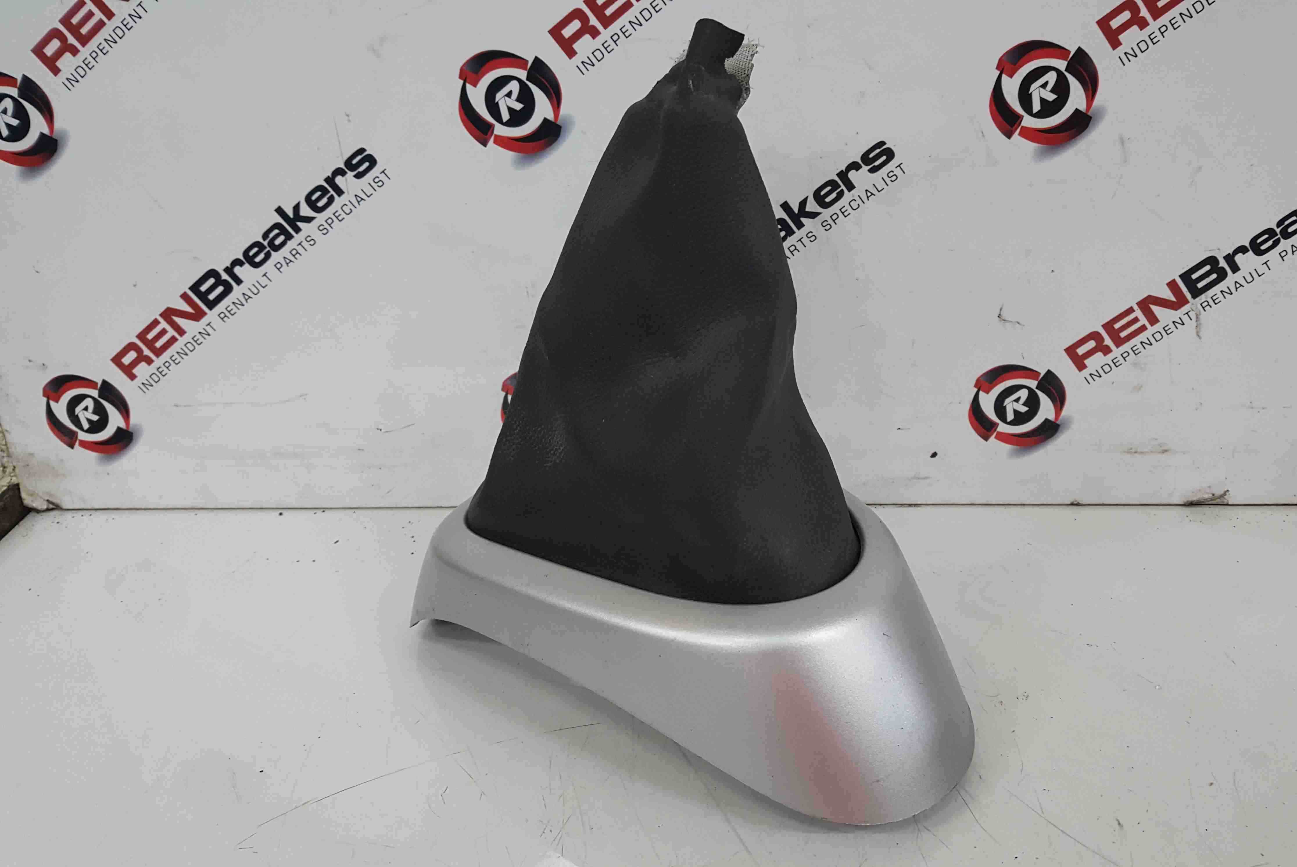 Renault Wind 2010-2013 Gearstick Surround Silver Trim Cover