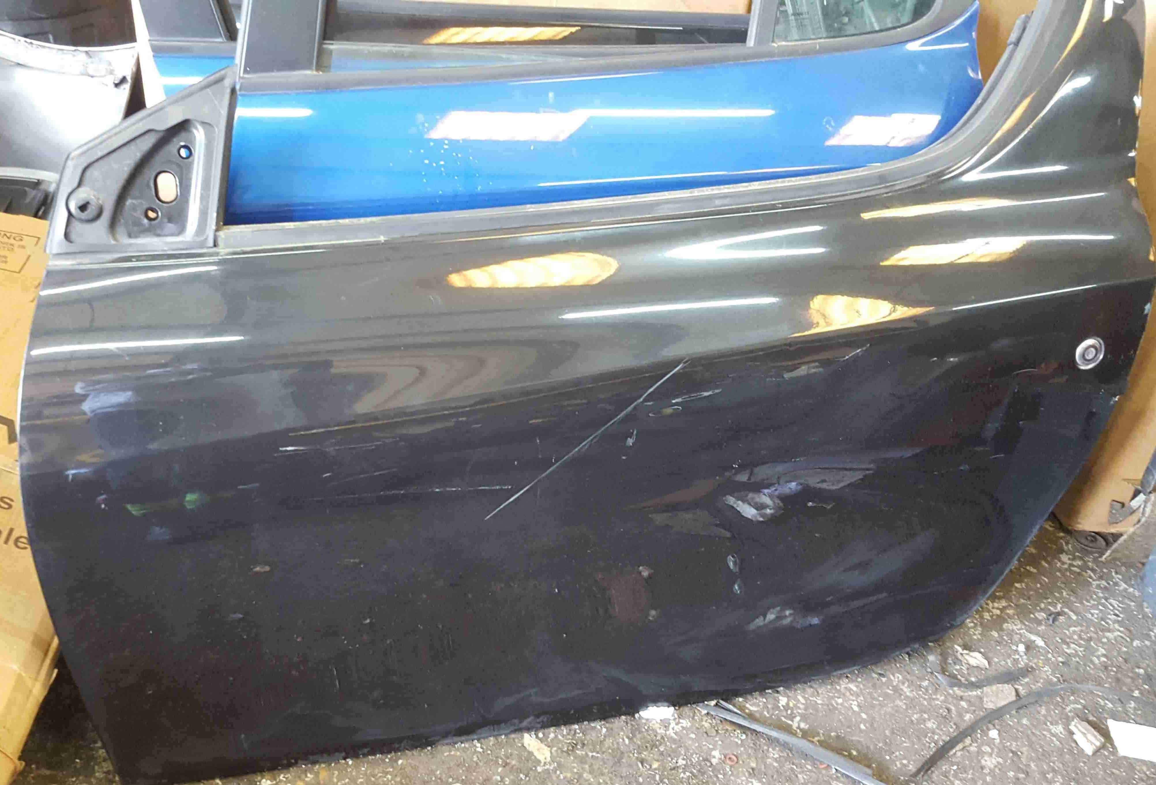 Renault Wind 2010-2013 Passenger NSF Front Door Black 676