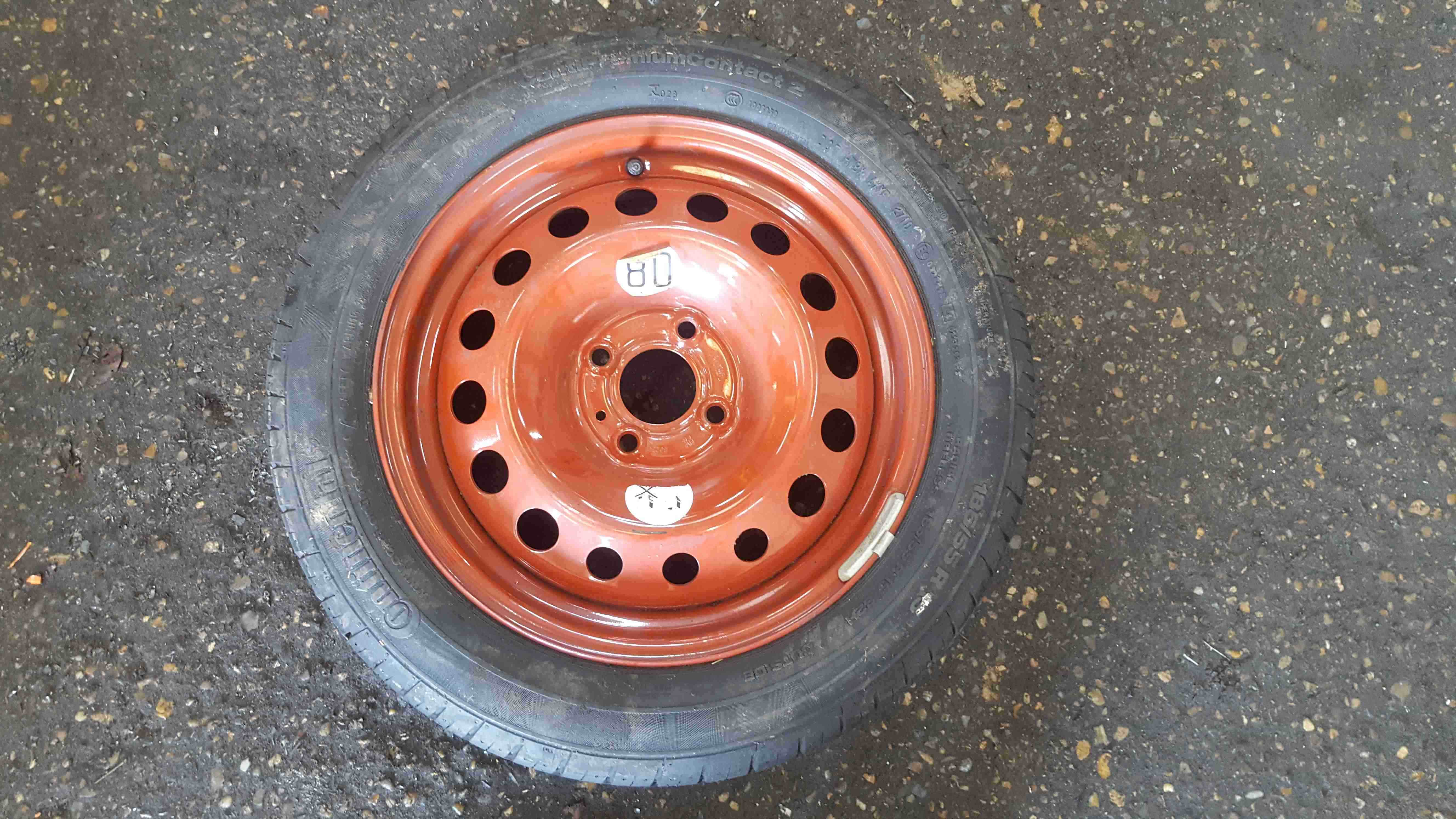 Renault Wind 2010-2013 Space Saver Steel Wheel  Tyre 185 55 15