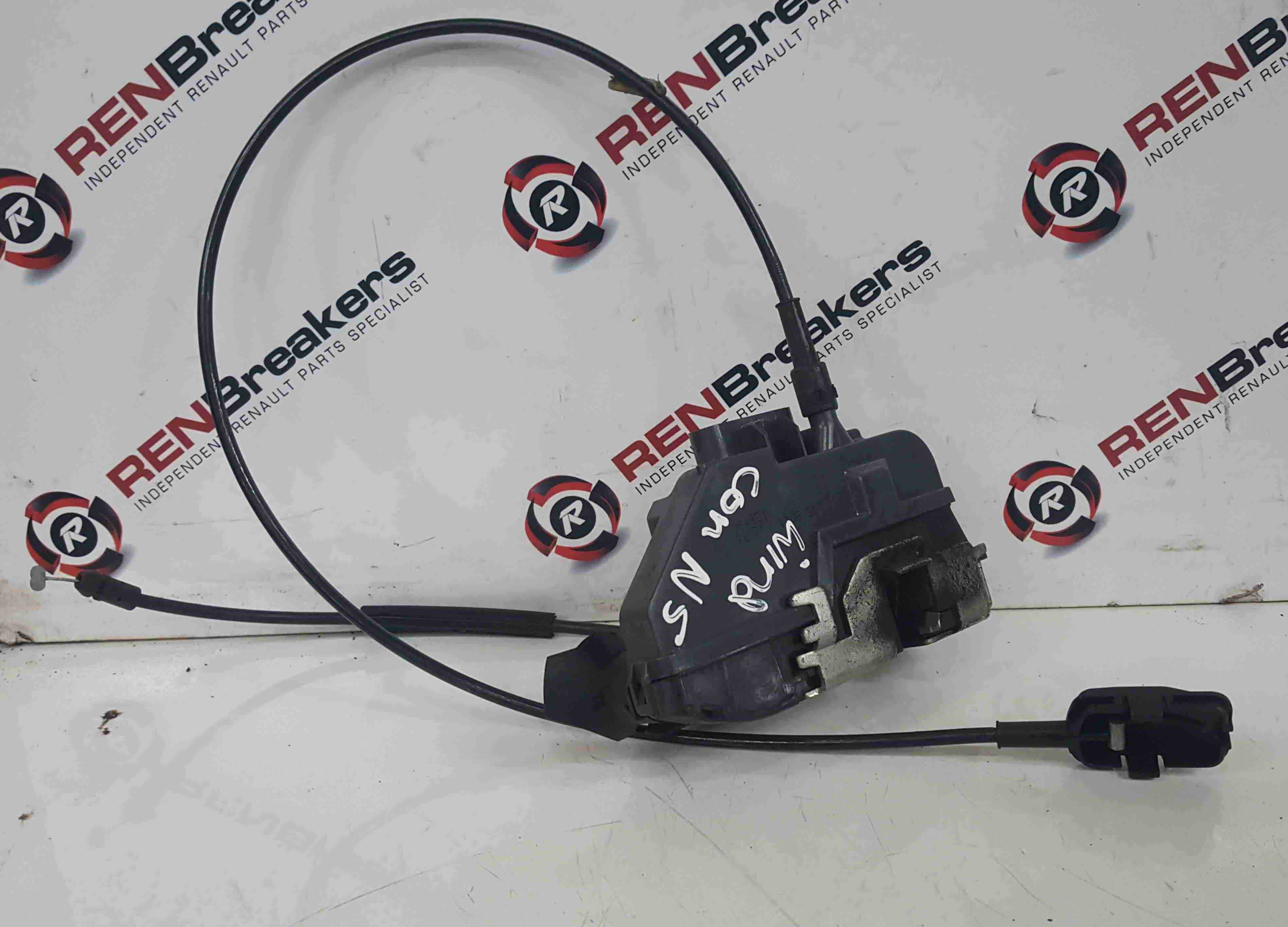 Renault Wind Convertible 2010-2013 Passenger NSF Front Door Lock Mechanism