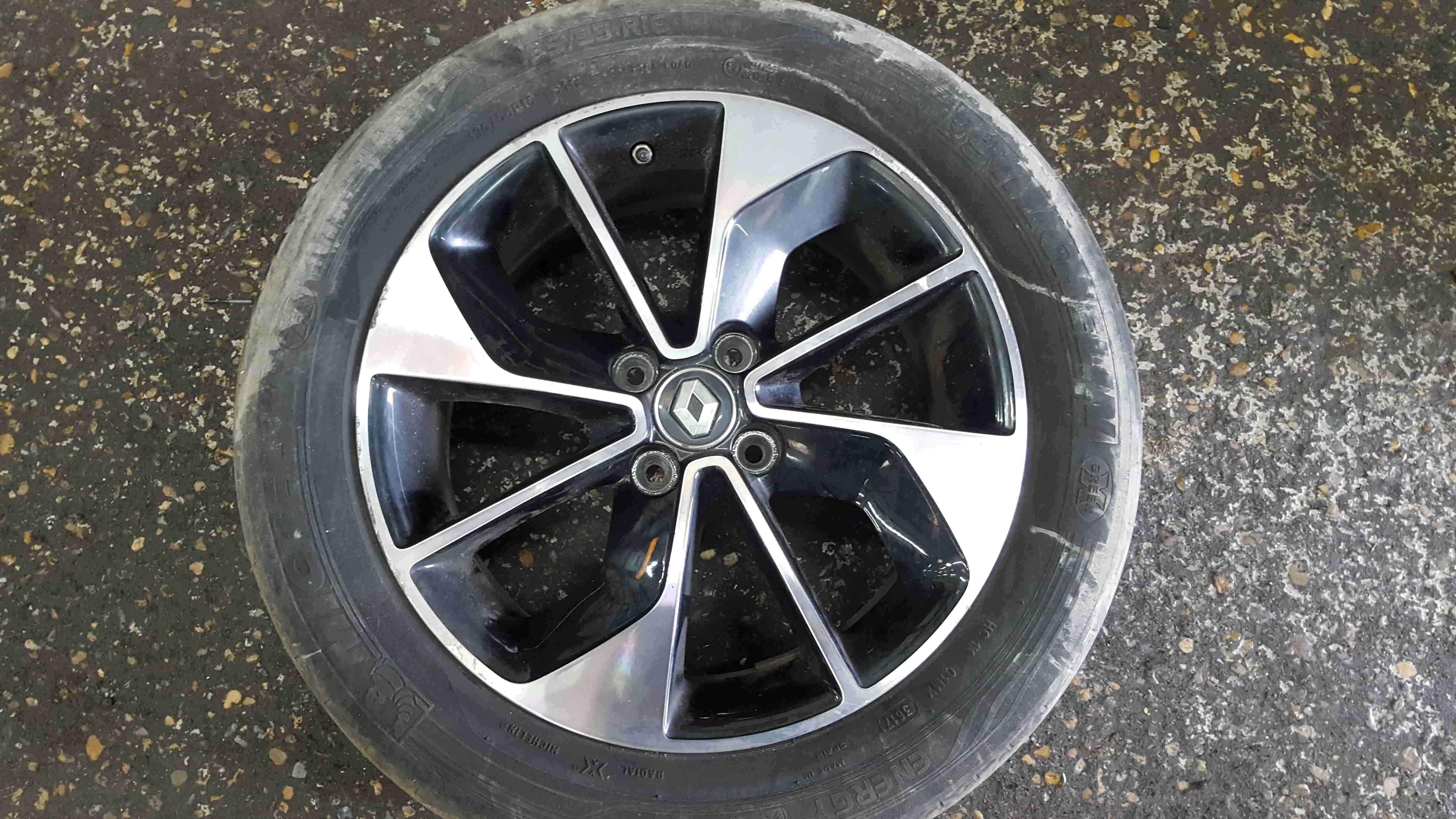 Renault Zoe 2012-2016 Alloy Wheel 16inch 403009927R