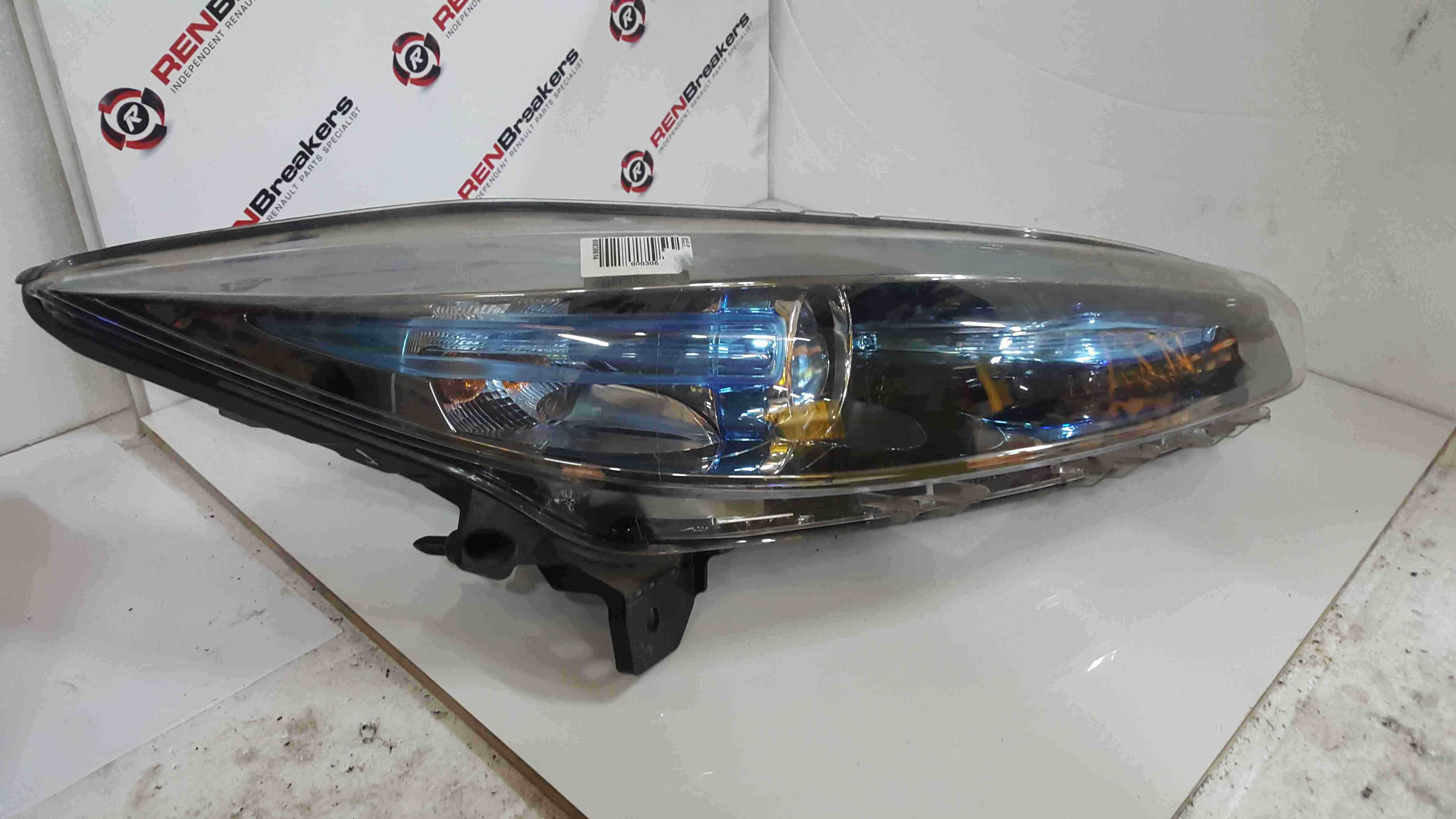 Renault Zoe 2012-2016 Drivers OSF Front Headlight 260104053R