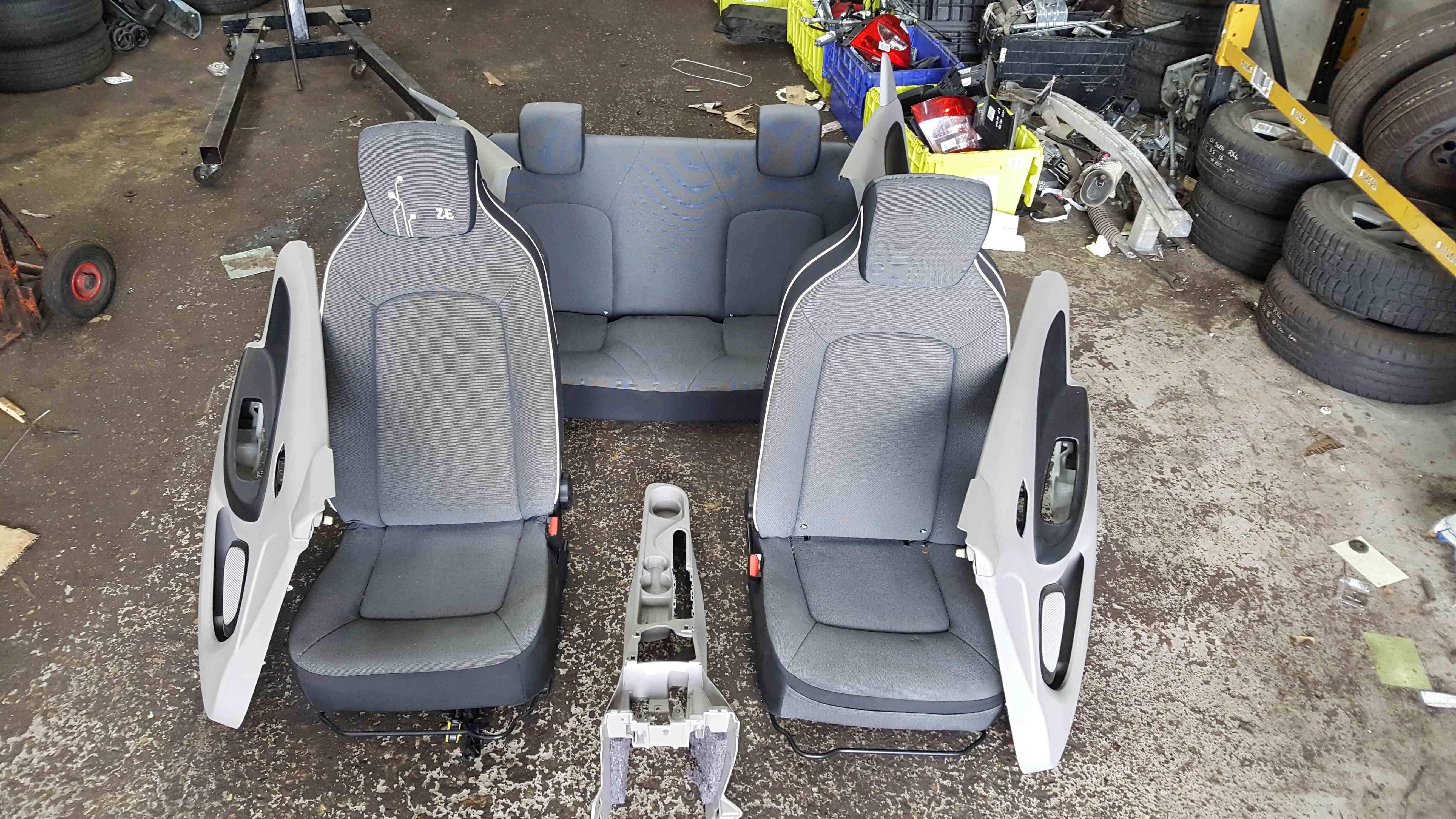 Renault Zoe 2012-2016 Full Interior Set Chairs Door Cards Seats