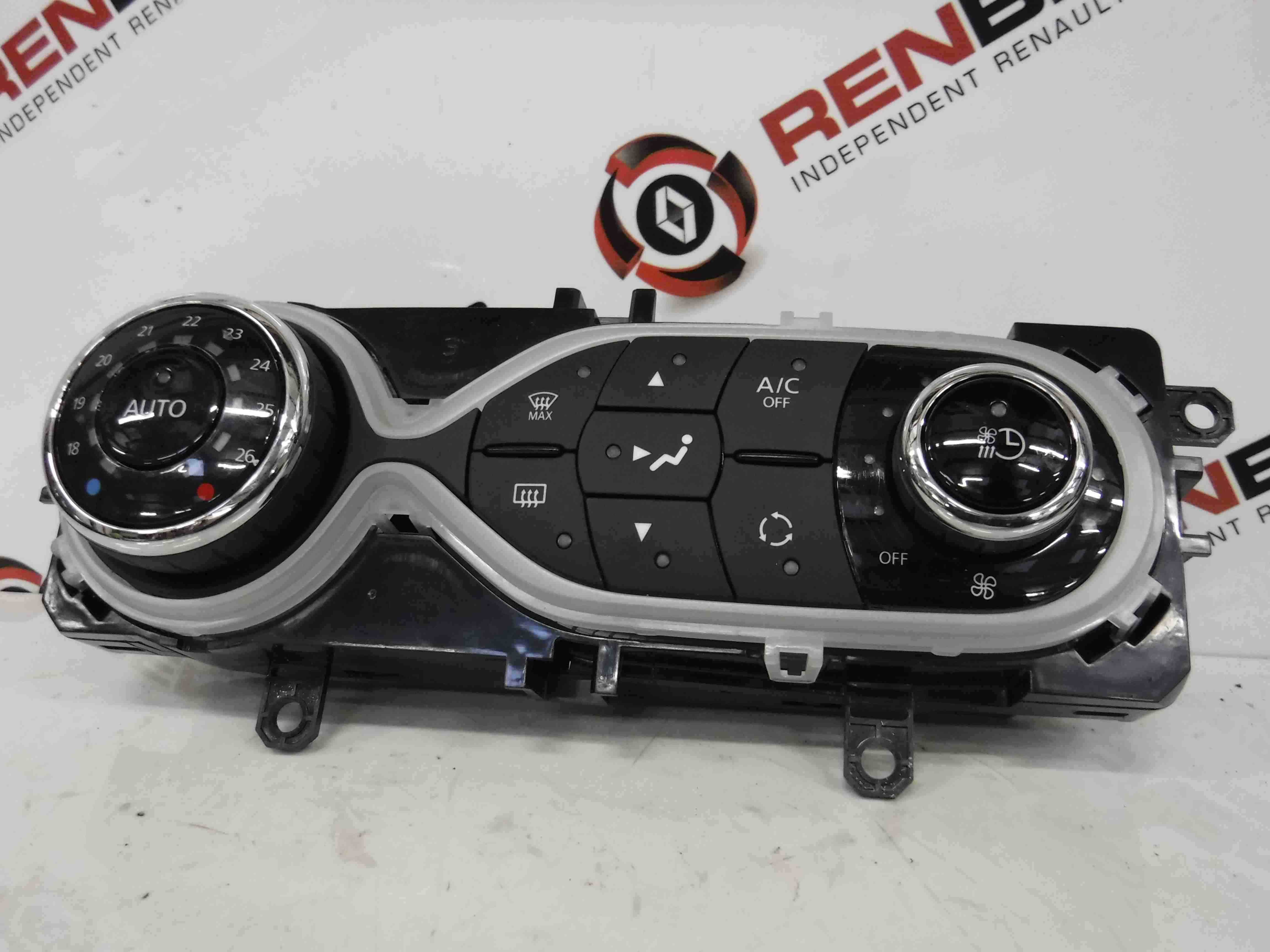 Renault Zoe 2012-2016 Heater Controls Switch Panel Aircon 275100906r