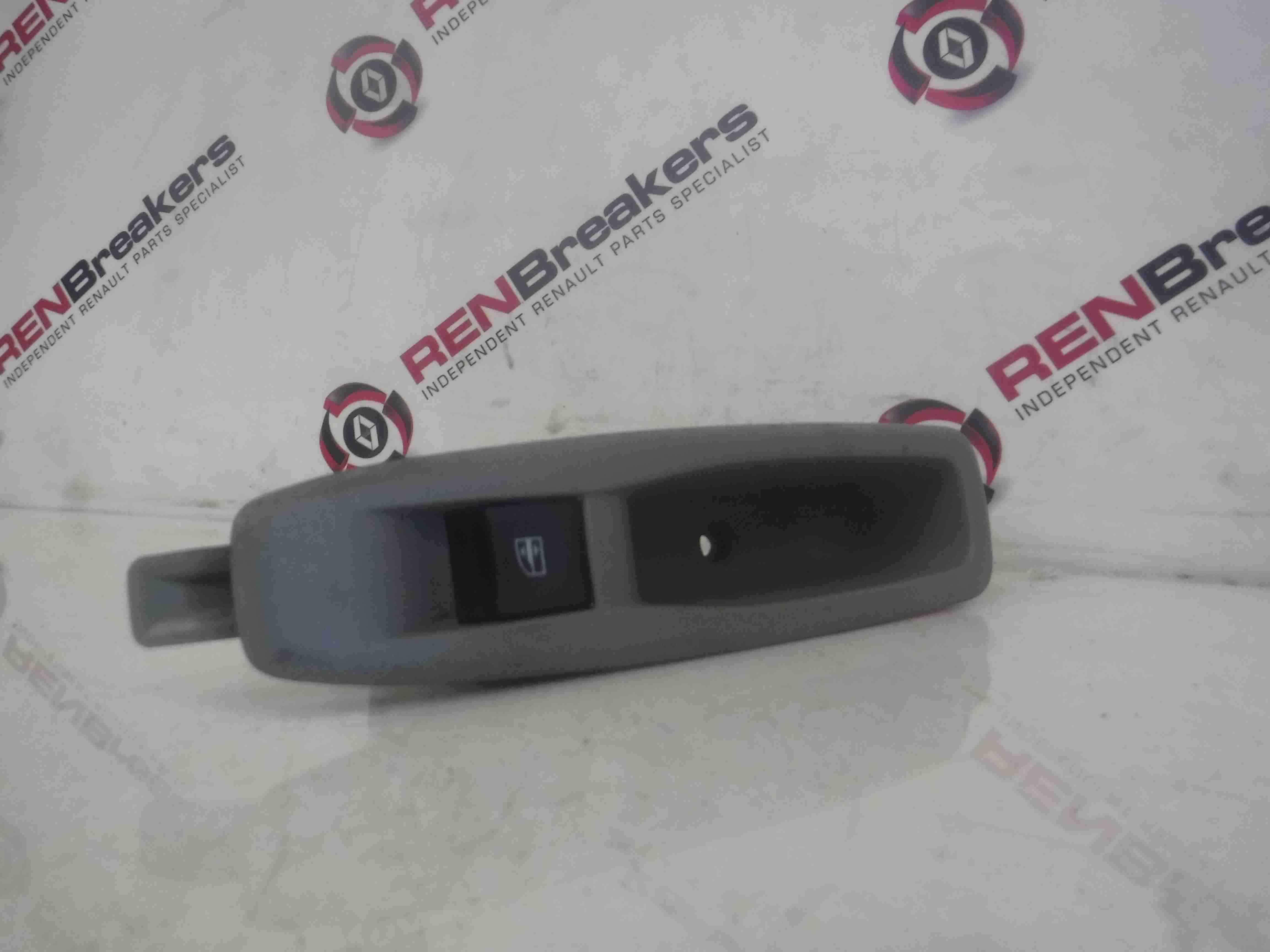 Renault Zoe 2012-2016 Passenger NSR Rear Window Switch + Handle Panel 829614619r