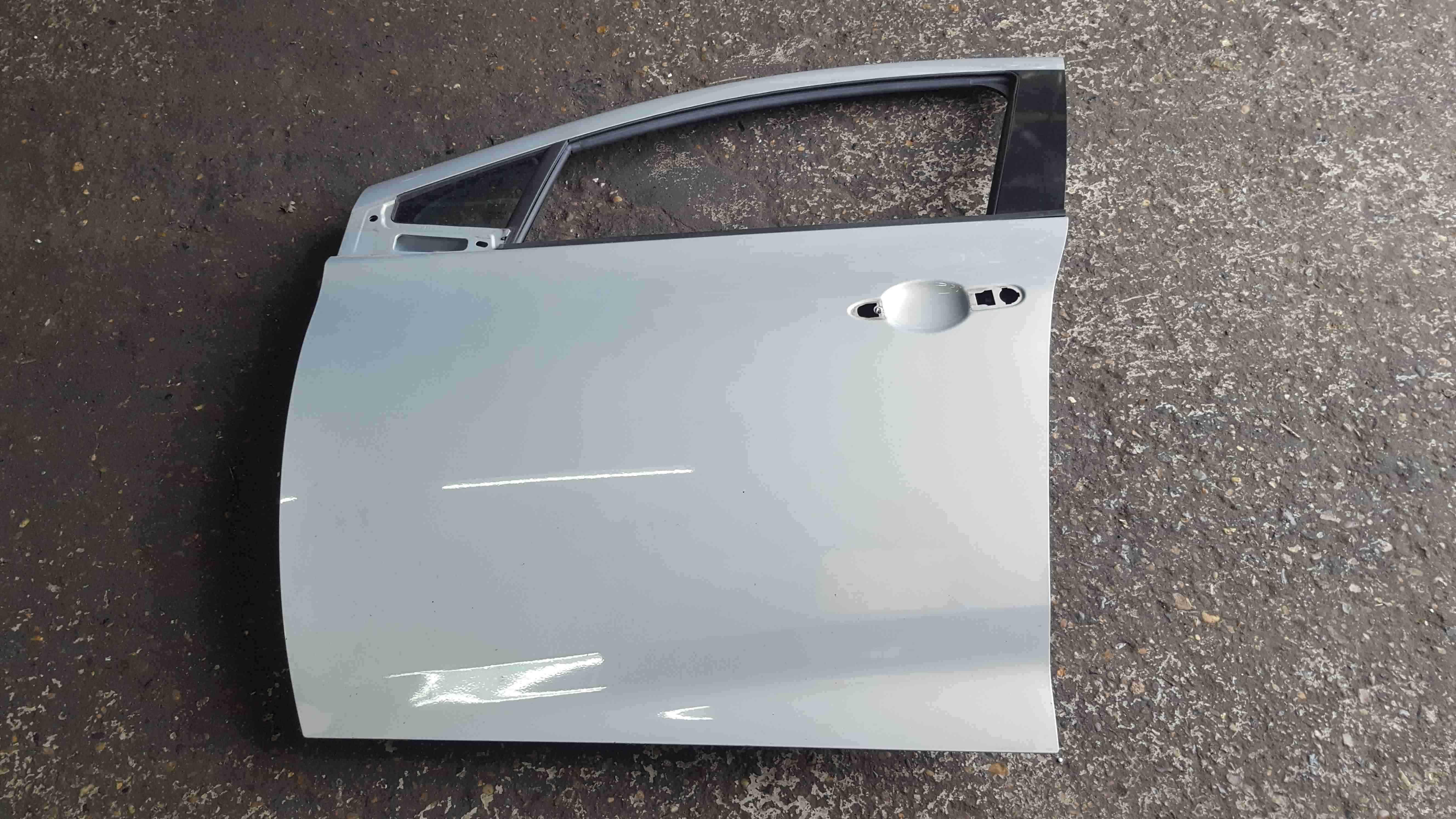 Renault Zoe 2012-2018 Passenger NSF Front Door Blue TEKNU