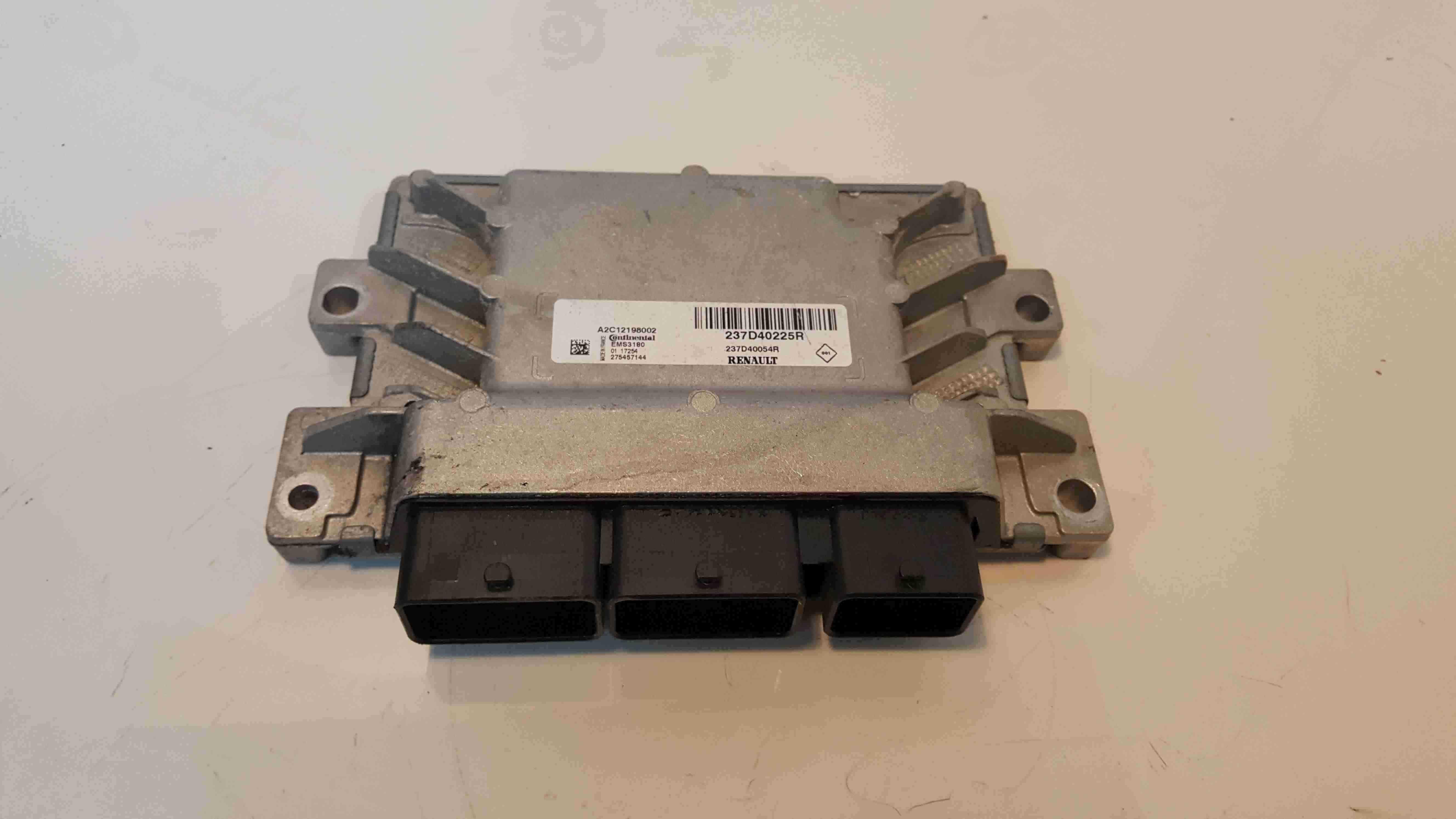 Renault Zoe 2012-2019 Engine Control Unit ECU Computer 237d40225R 237D40054R