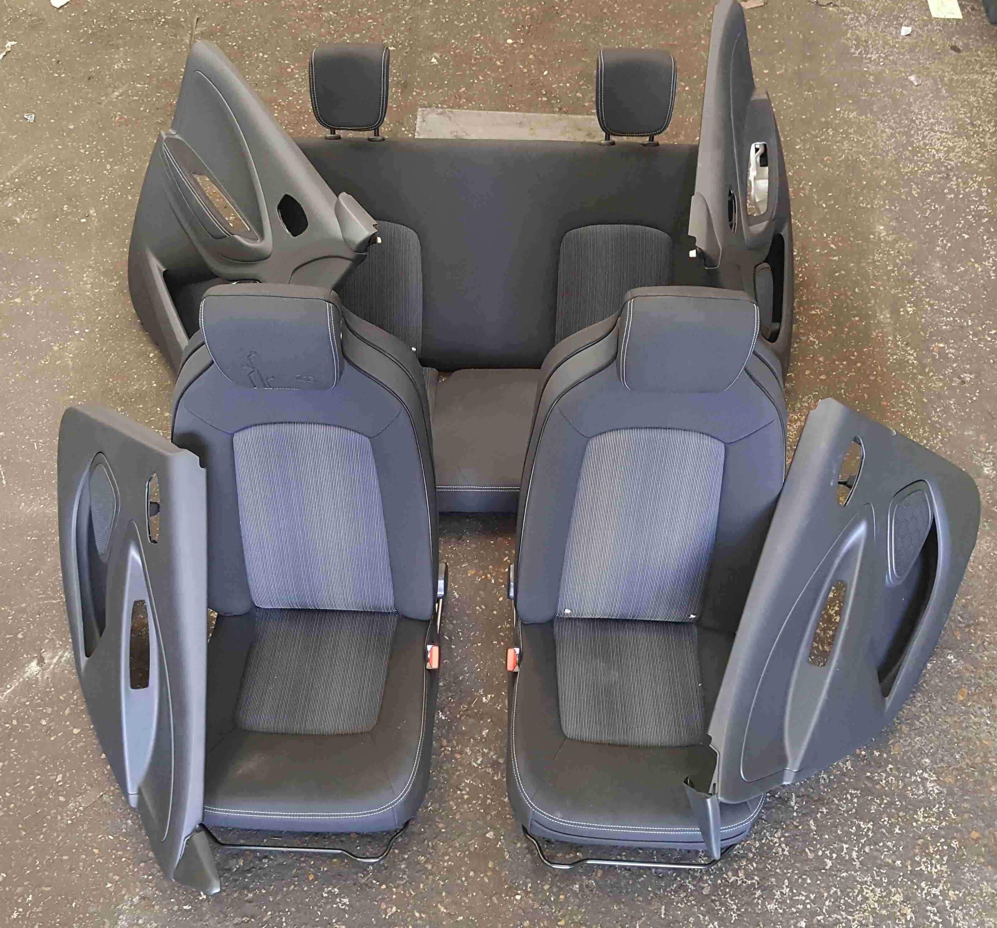 Renault Zoe 2012-2019 Full Interior Kit Seats Chairs Door Cards