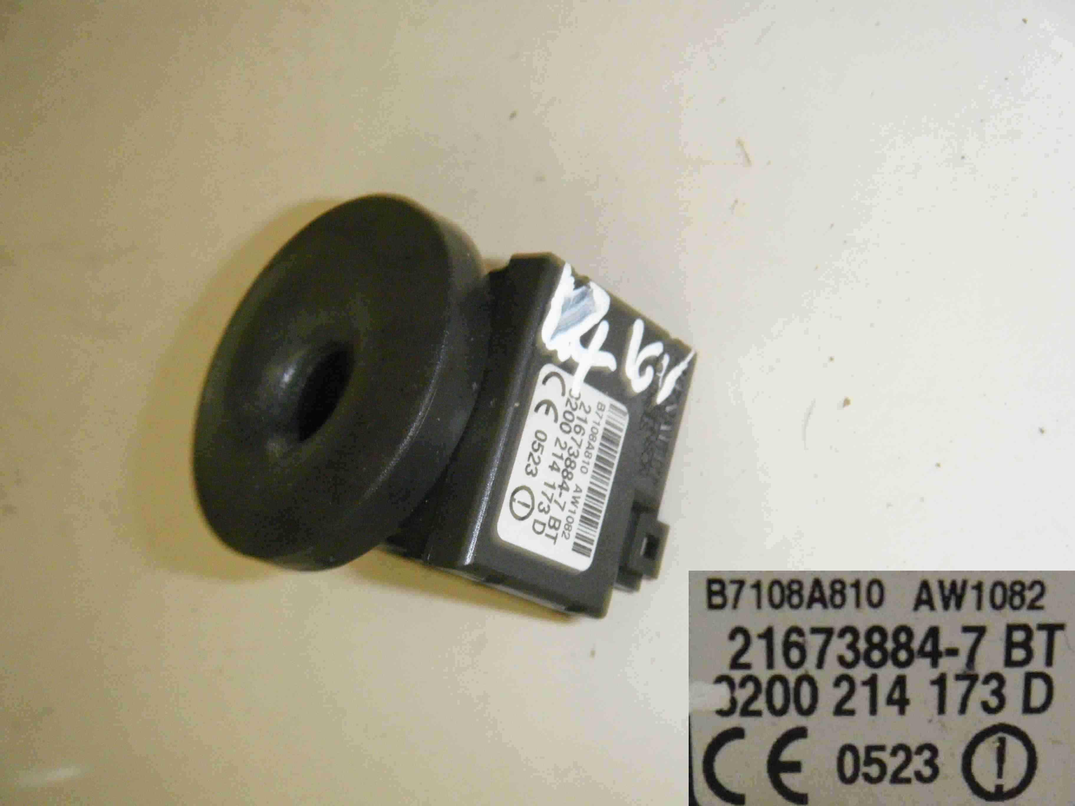Renault Clio MK3 2005-2012 Transponder Decoder immobiliser Ignition ring Key