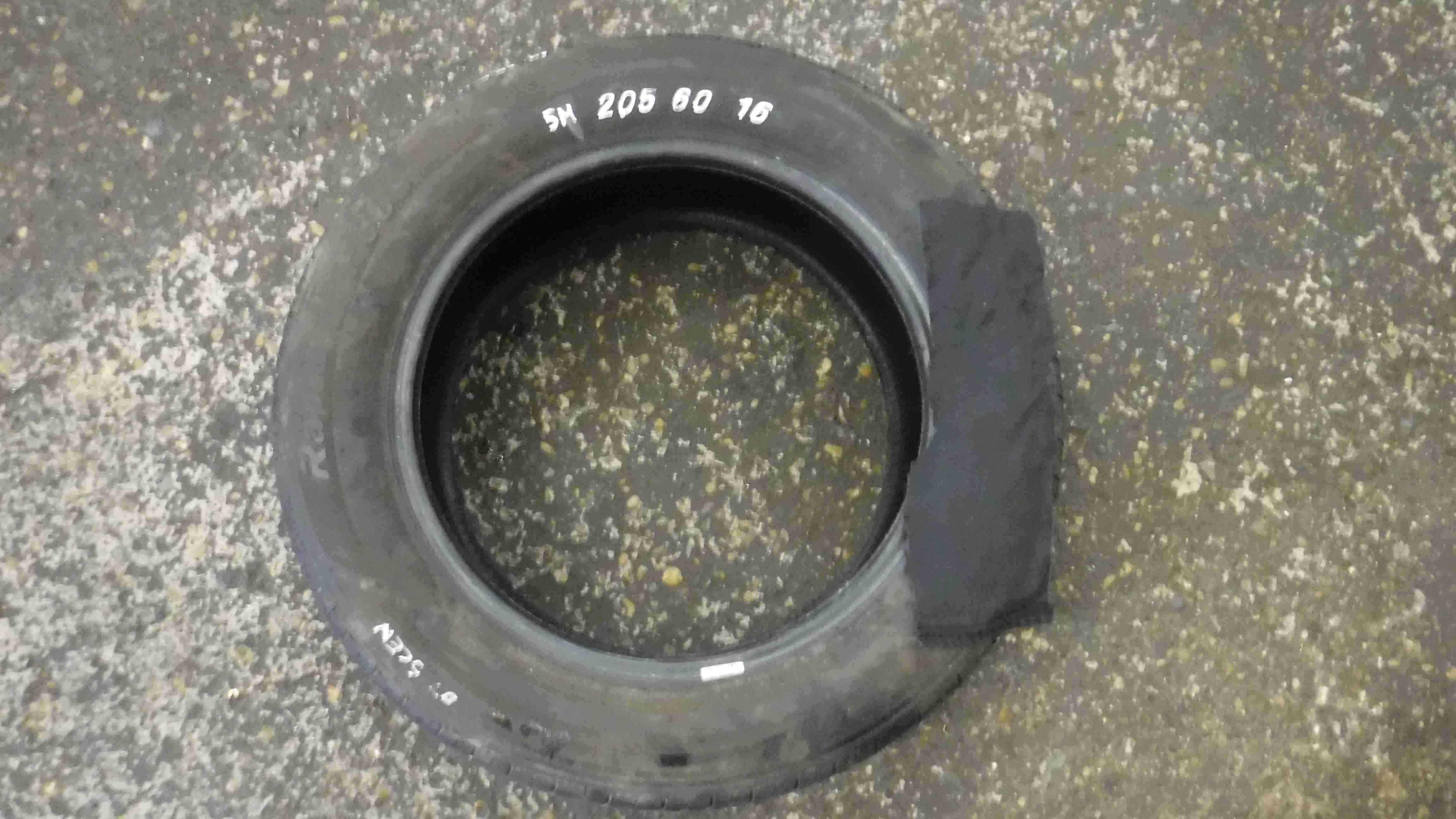Part Worn Tyre 205 60 16 6mm