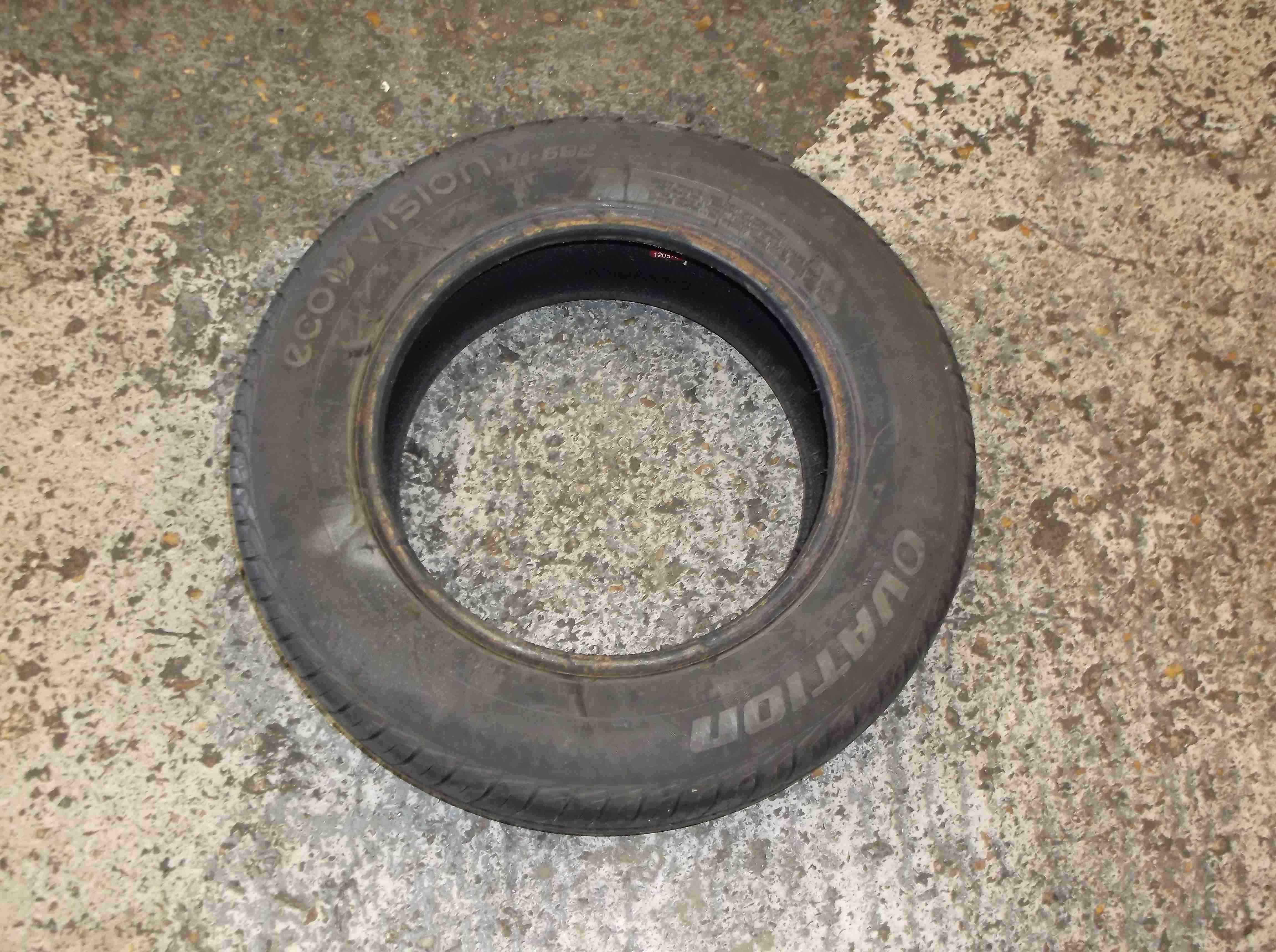 Part Worn Tyre Wheel Spare 175 70 14 9mm
