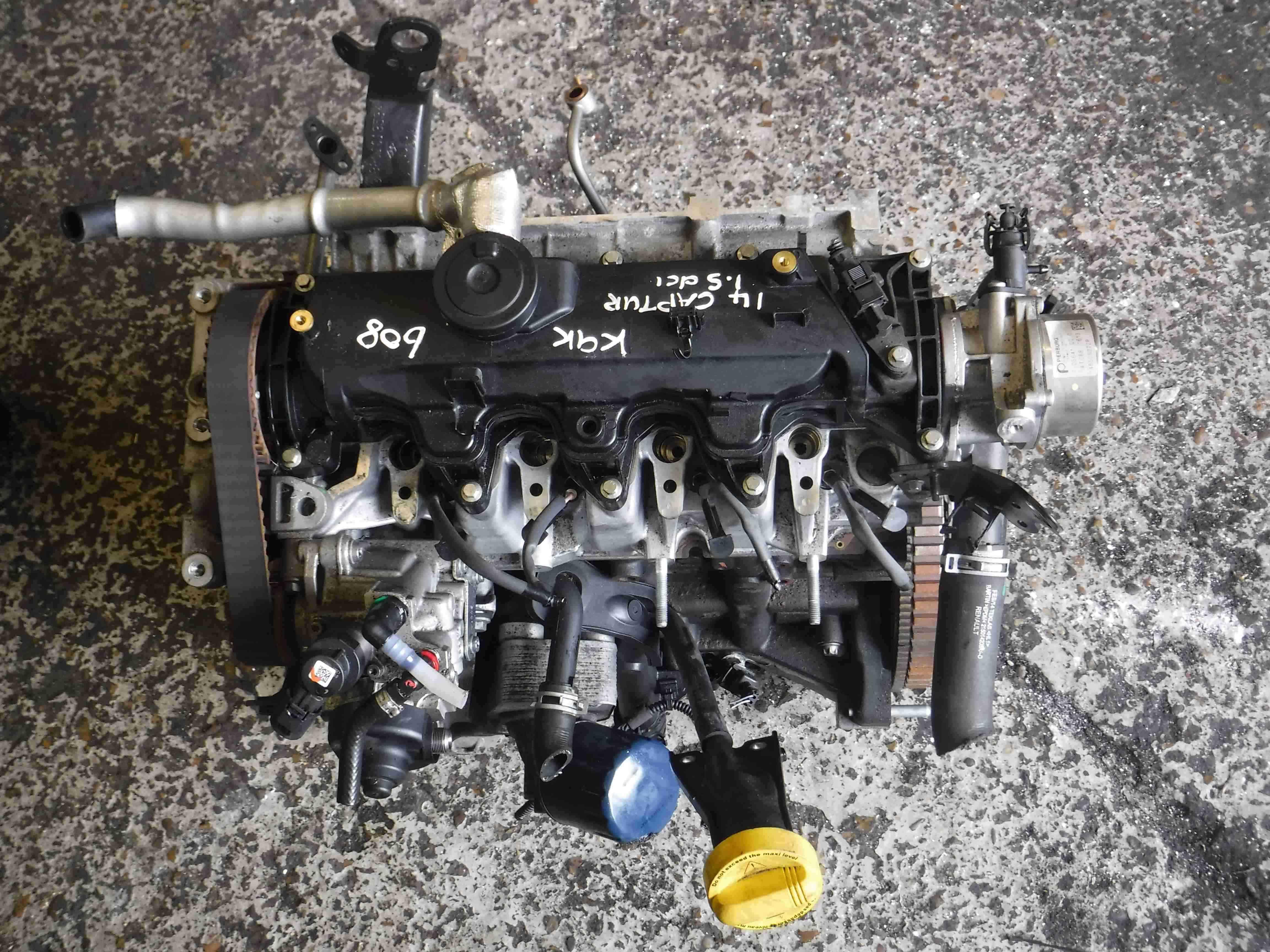 Renault Captur + Clio MK4 2013-2015 1.5 dCi Engine k9k 608 K9K 608