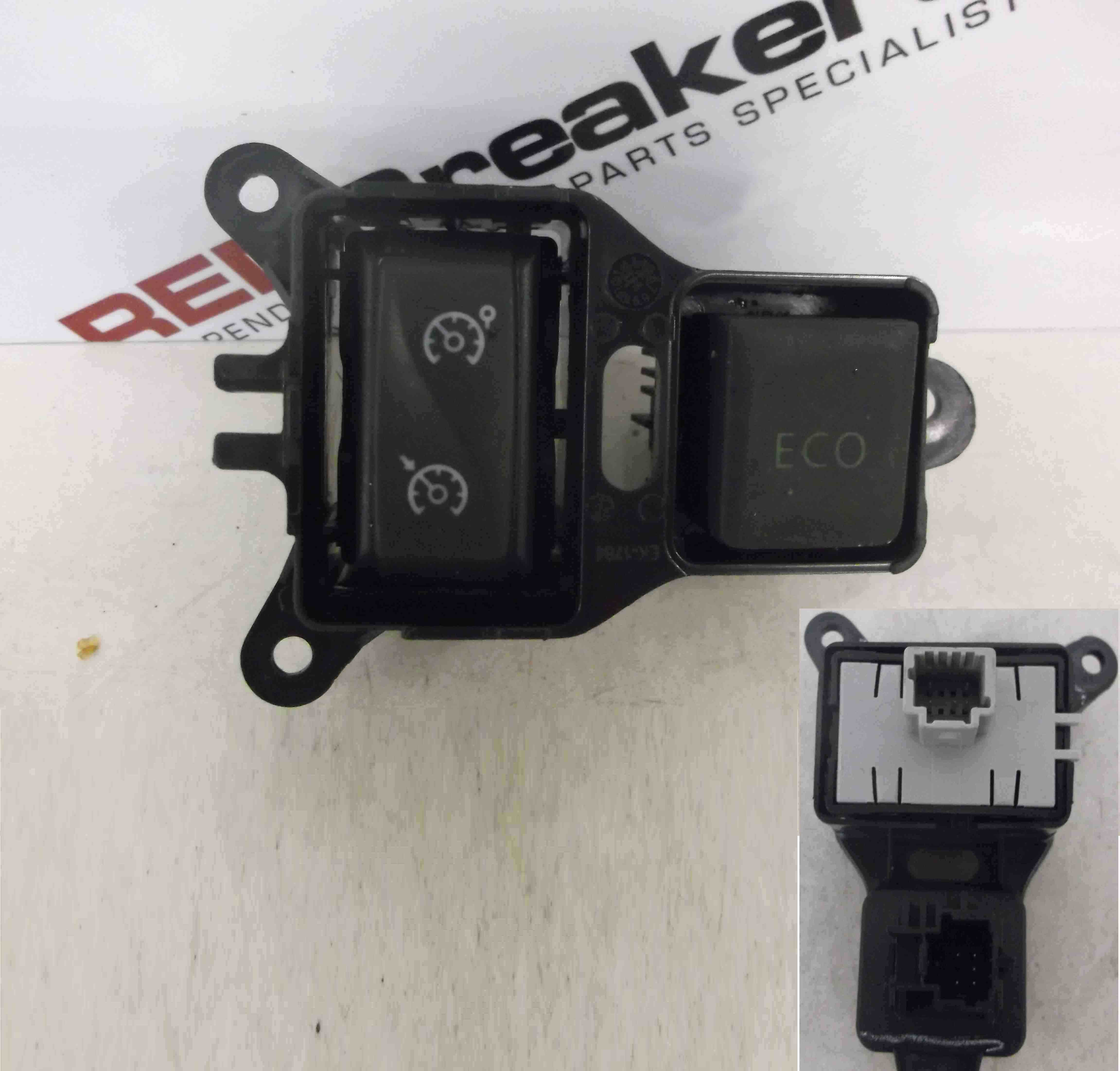 Renault Captur 2013-2015 ECO Switch Cruise Control Speed Limit 251B45280R