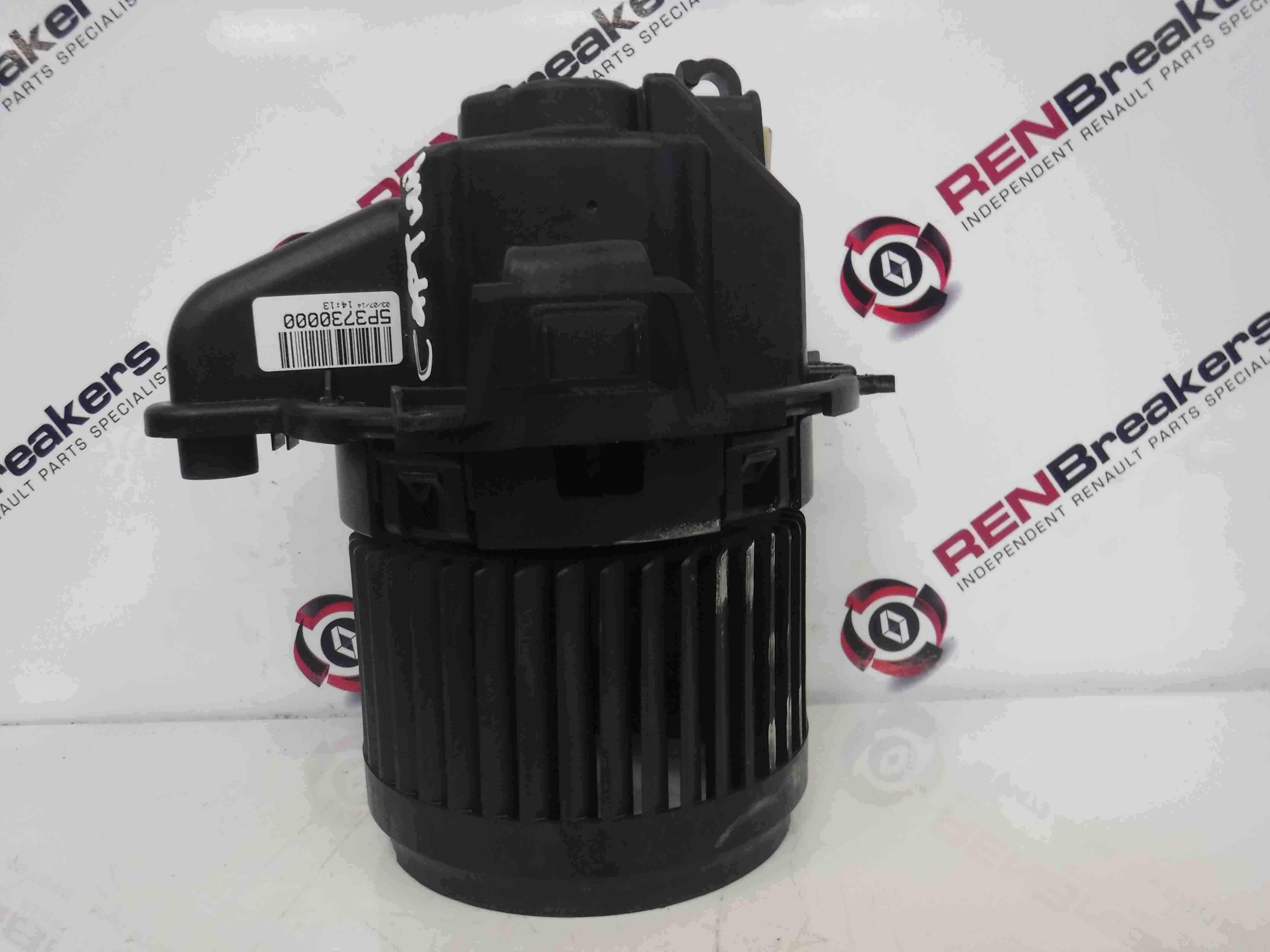 Renault Captur 2013-2015 Heater Motor Blower Fan