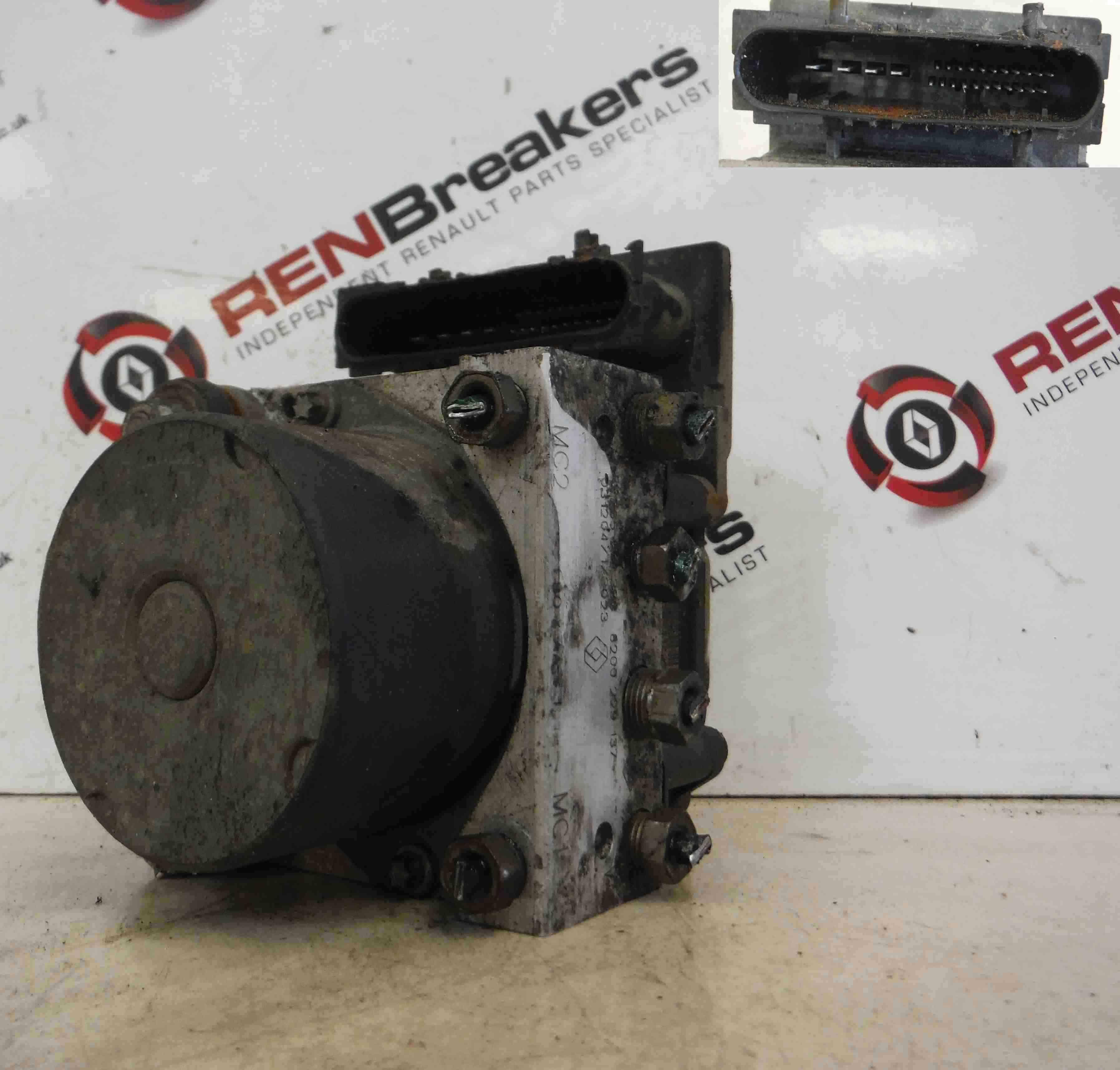 Renault Clio Campus MK2 2001-2010 ABS Pump Unit 8200661044 026500656 0265231985