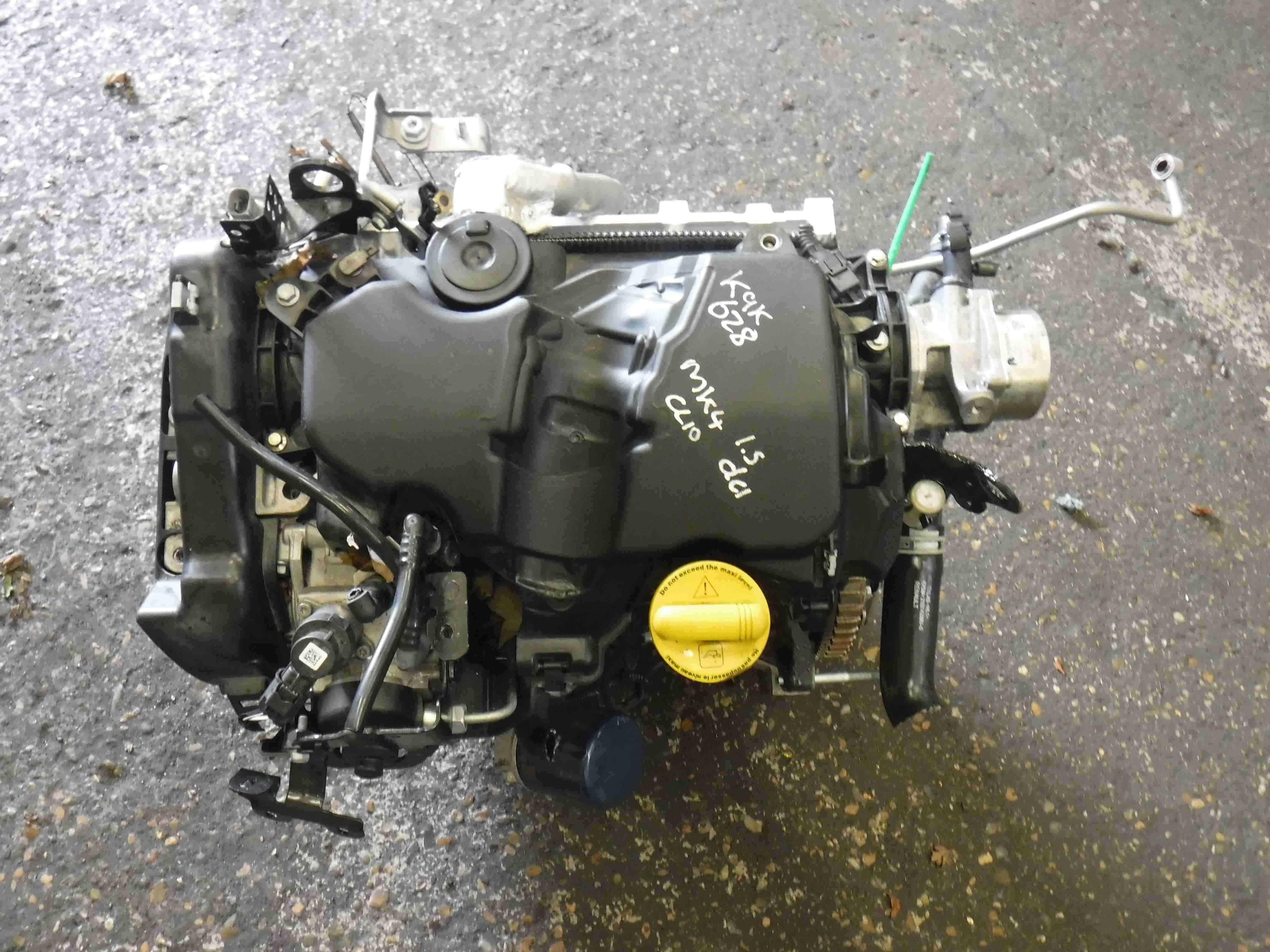 Renault Clio Captur Kangoo 2013-2018 1.5 dCi Engine K9K 628 + Pump K9K628