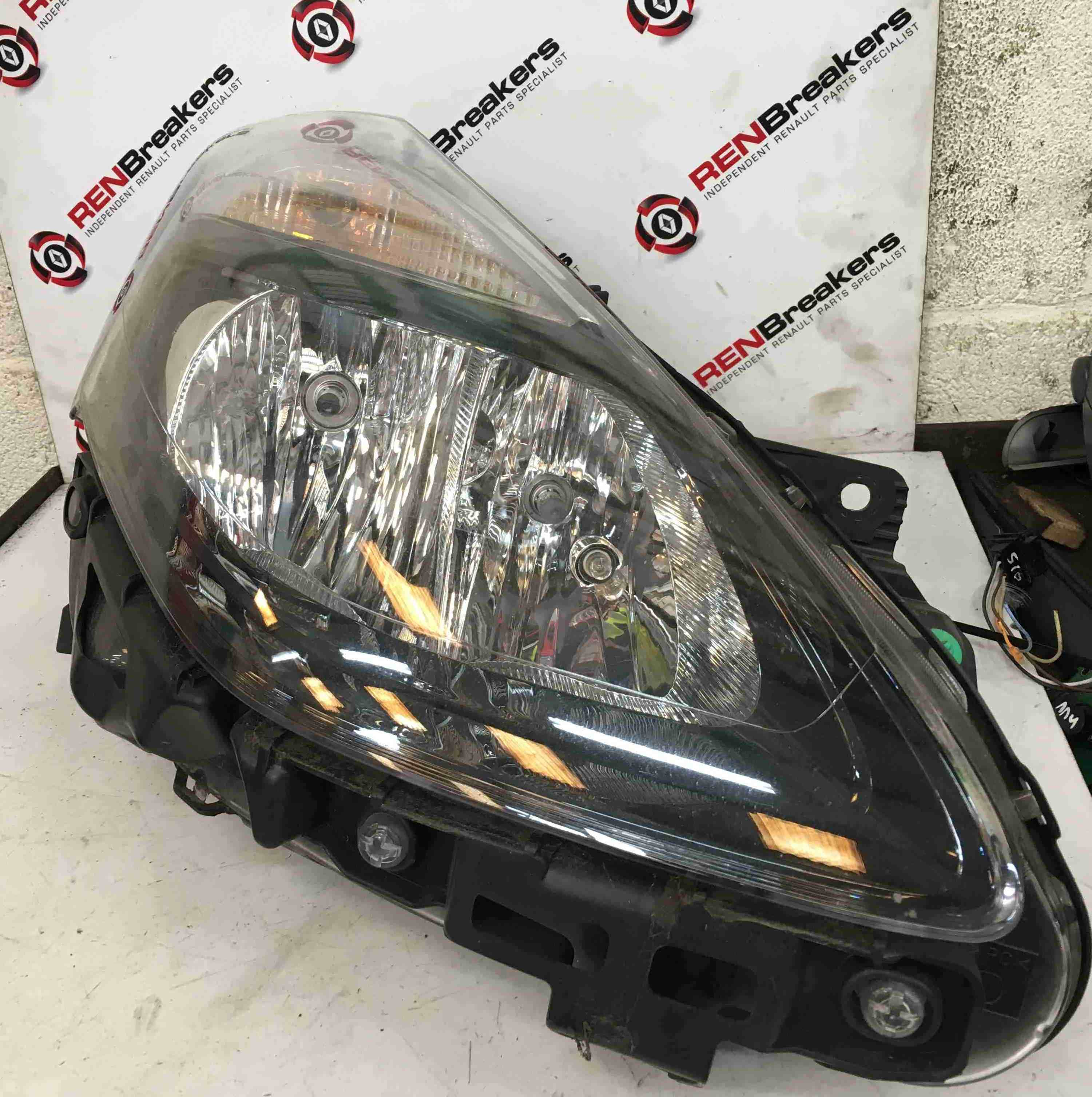 Renault Clio Estate MK3 2009-2012 Drivers OSF Front Headlight FACELIFT