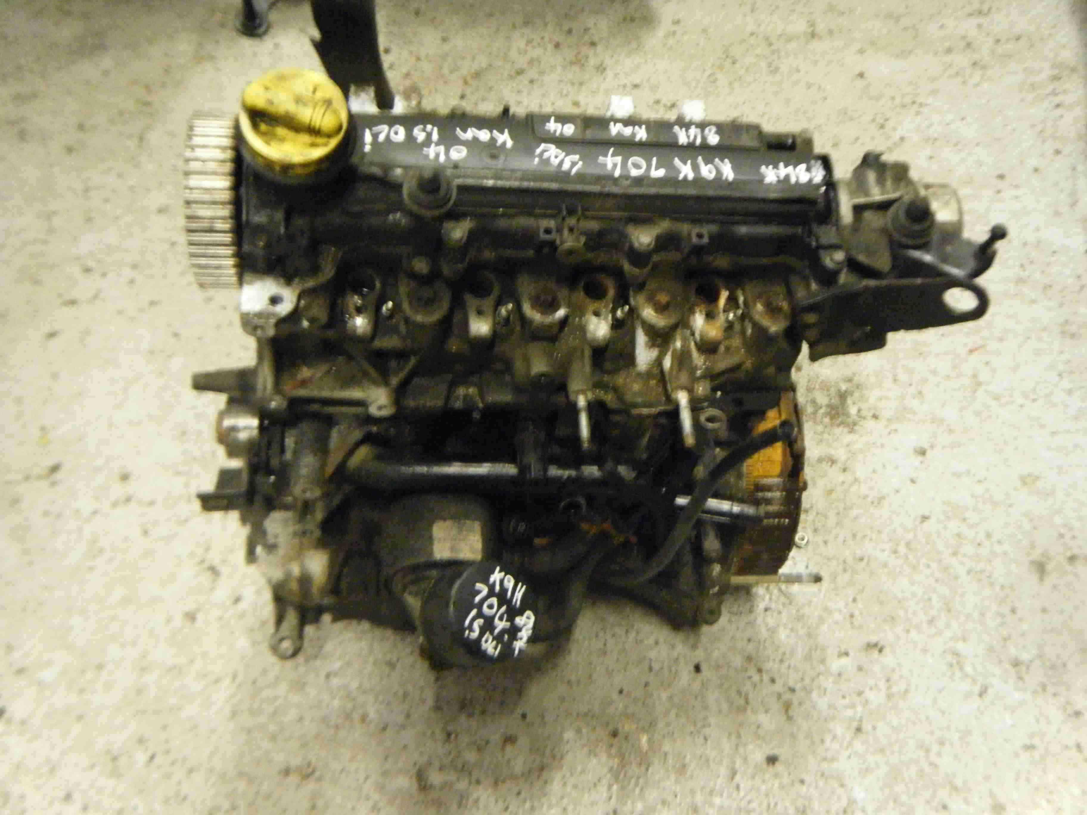 Renault Clio Kangoo 2001-2006 1.5 dCi K9K 704 Engine k9k704