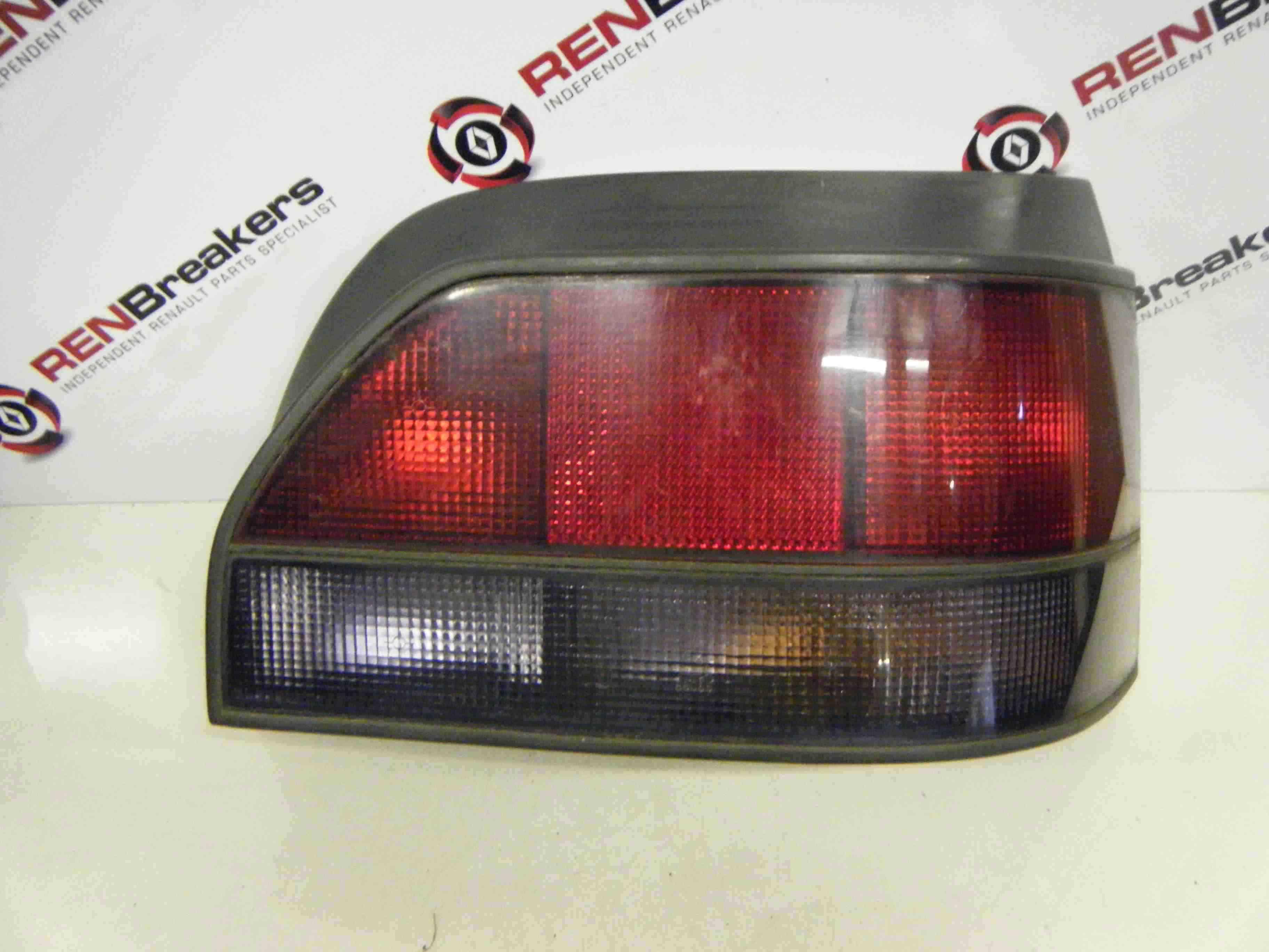 Renault Clio MK1 1990-1996 Drivers OSR Rear Light Lens 7700967