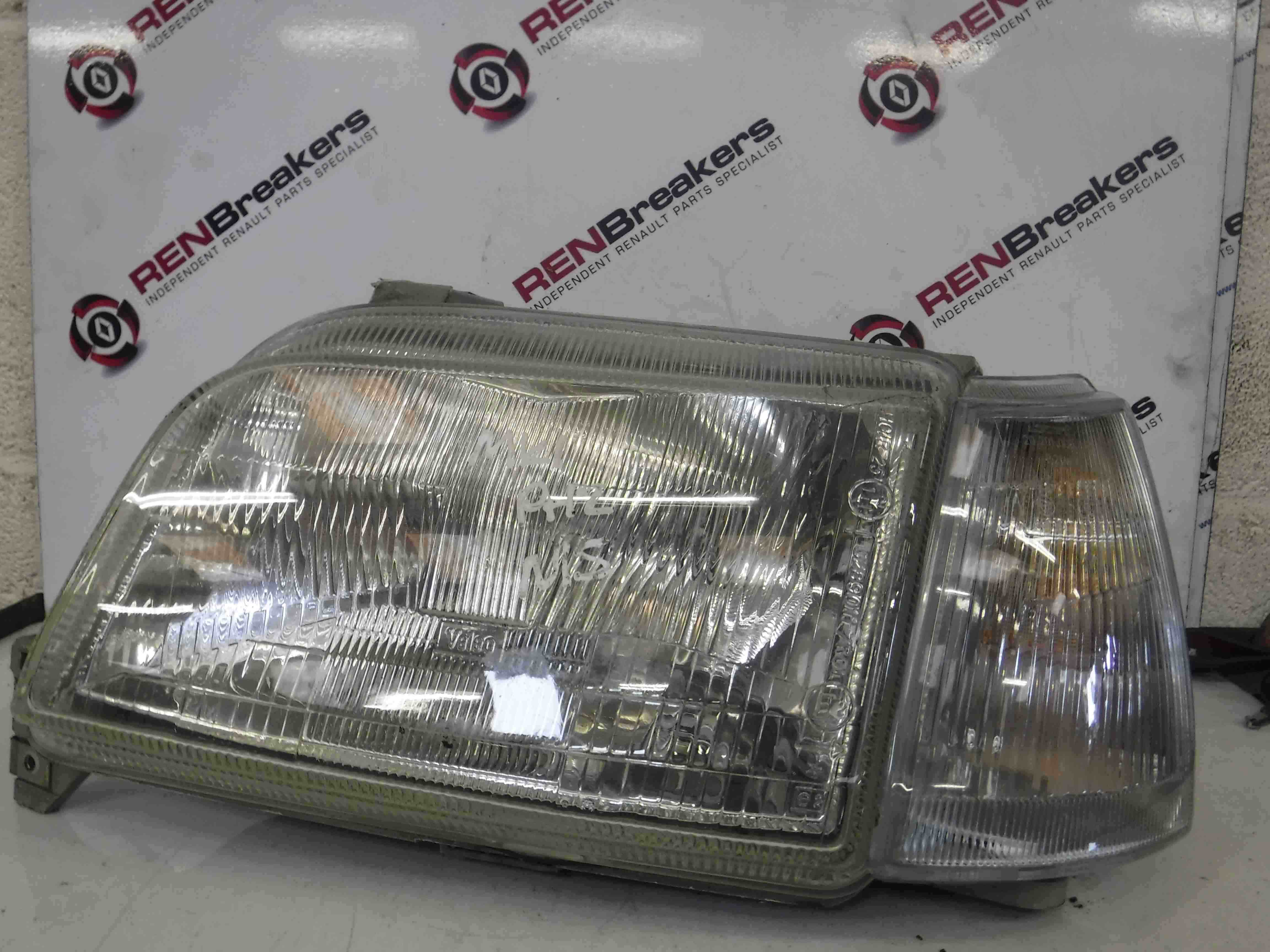 Renault Clio MK1 1996-1998 Passenger NSF Front Headlight + Indicator