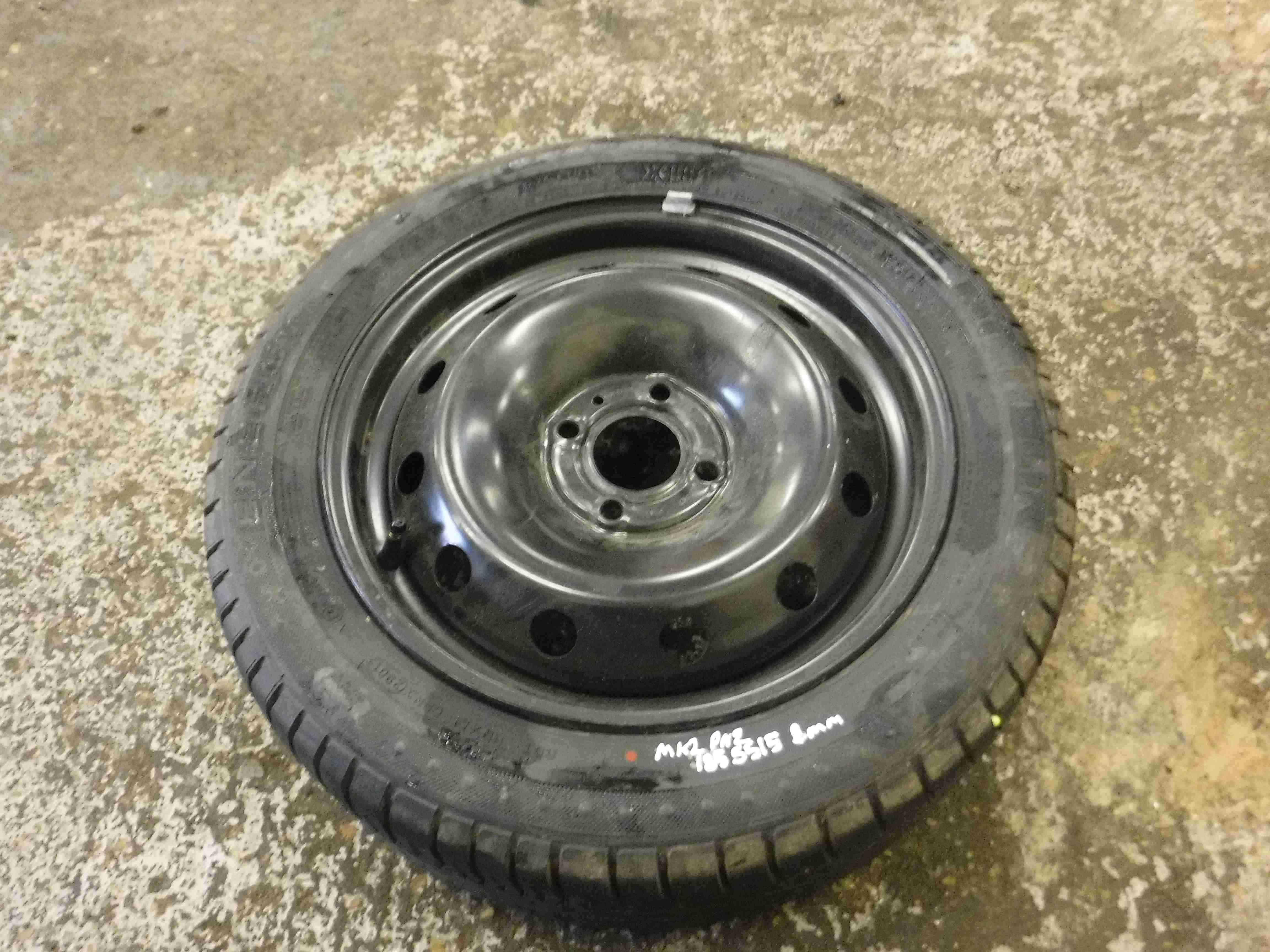 Renault Clio MK2 2001-2006 Steel Wheel Rim  Tyre 185 55 15 8mm Tread 45