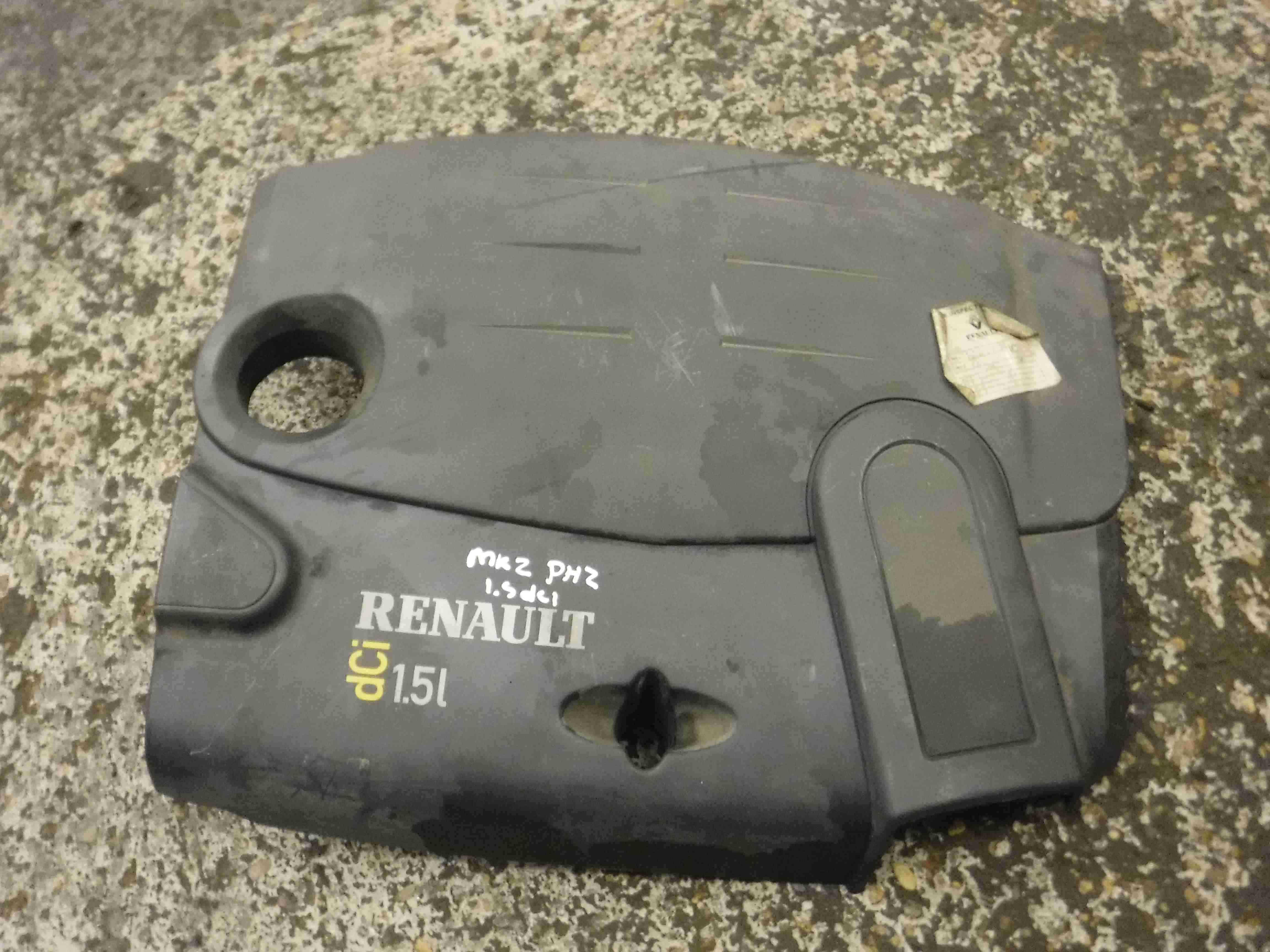 Renault Clio MK2 2001-2006 1.5 dCi Plastic Engine Cover