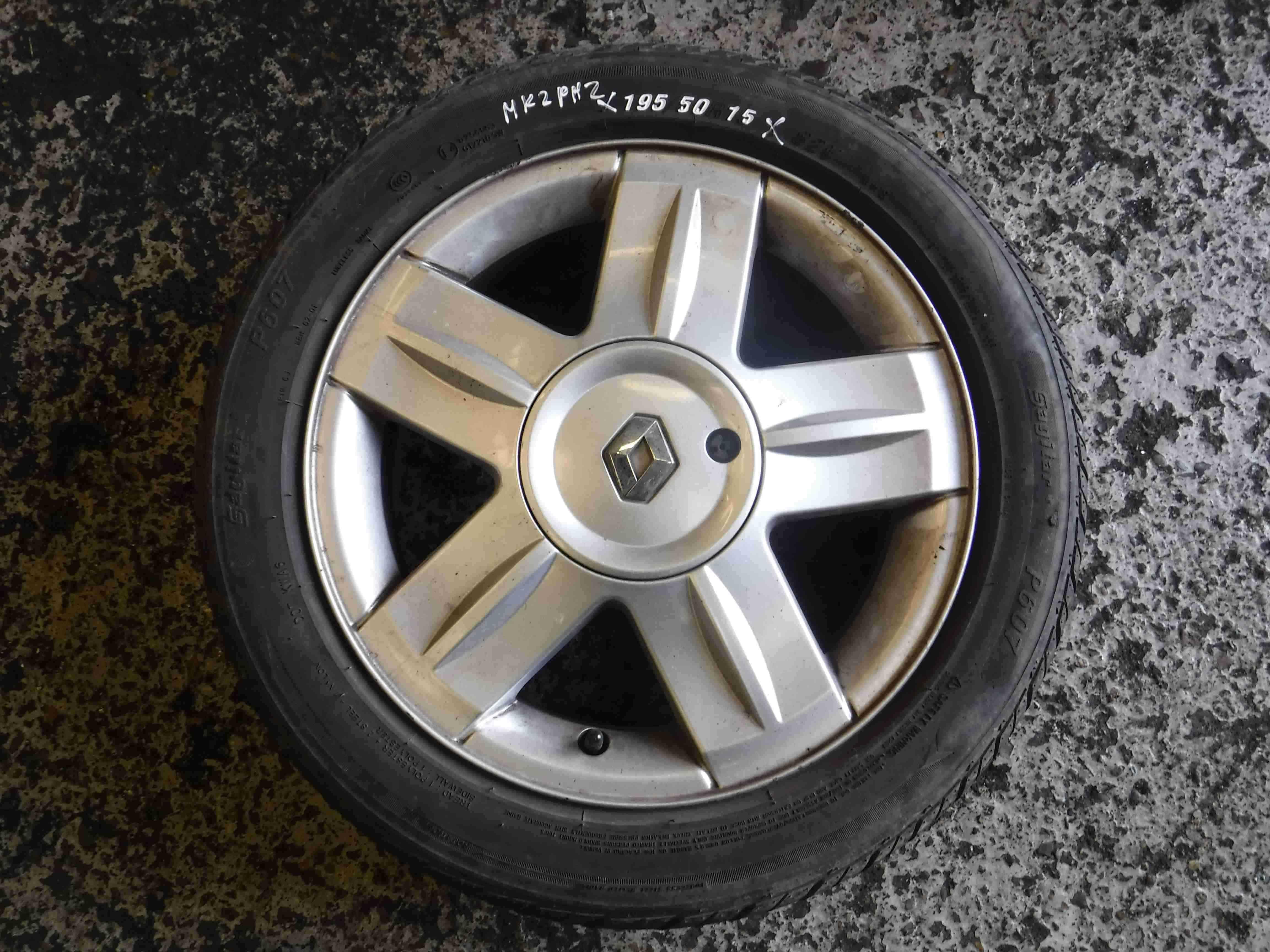 Renault Clio MK2 2001-2006 Campus Alium Alloy Wheel 15inch 4/5