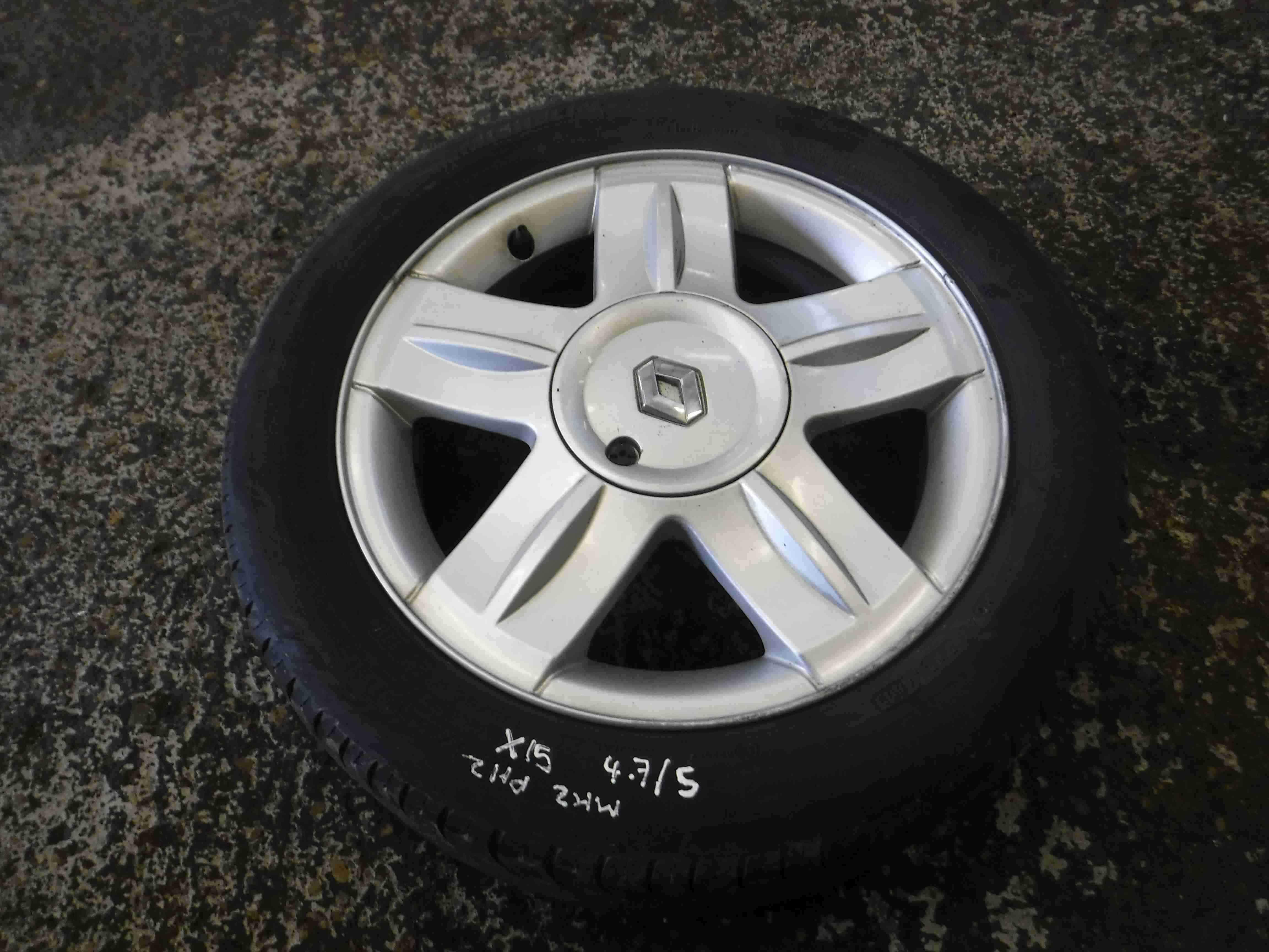 Renault Clio MK2 2001-2006 Campus Alloy Wheel 15 Inch 5/5