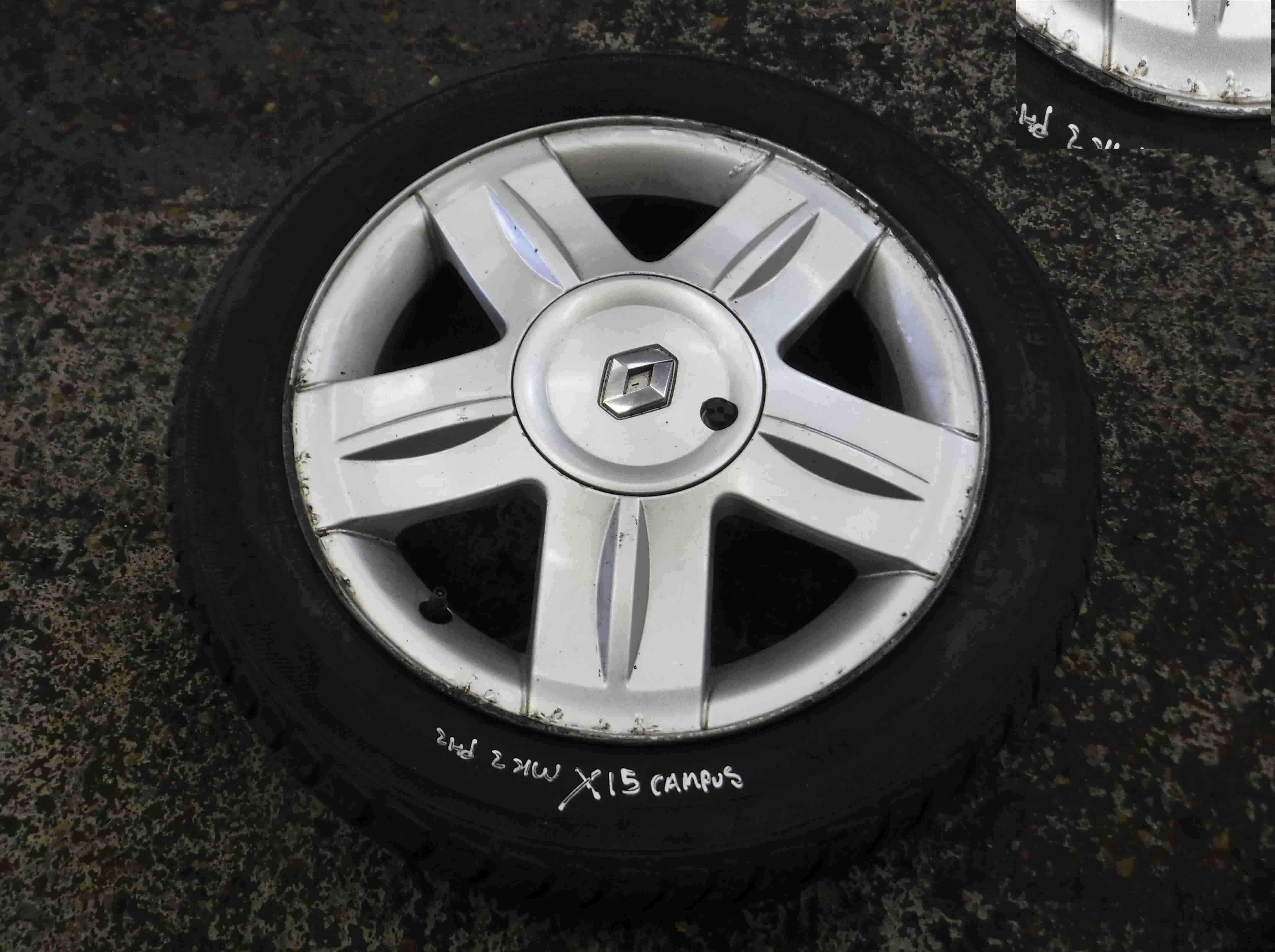 Renault Clio MK2 2001-2006 Campus Alloy Wheel 15inch 3/5 8200760342