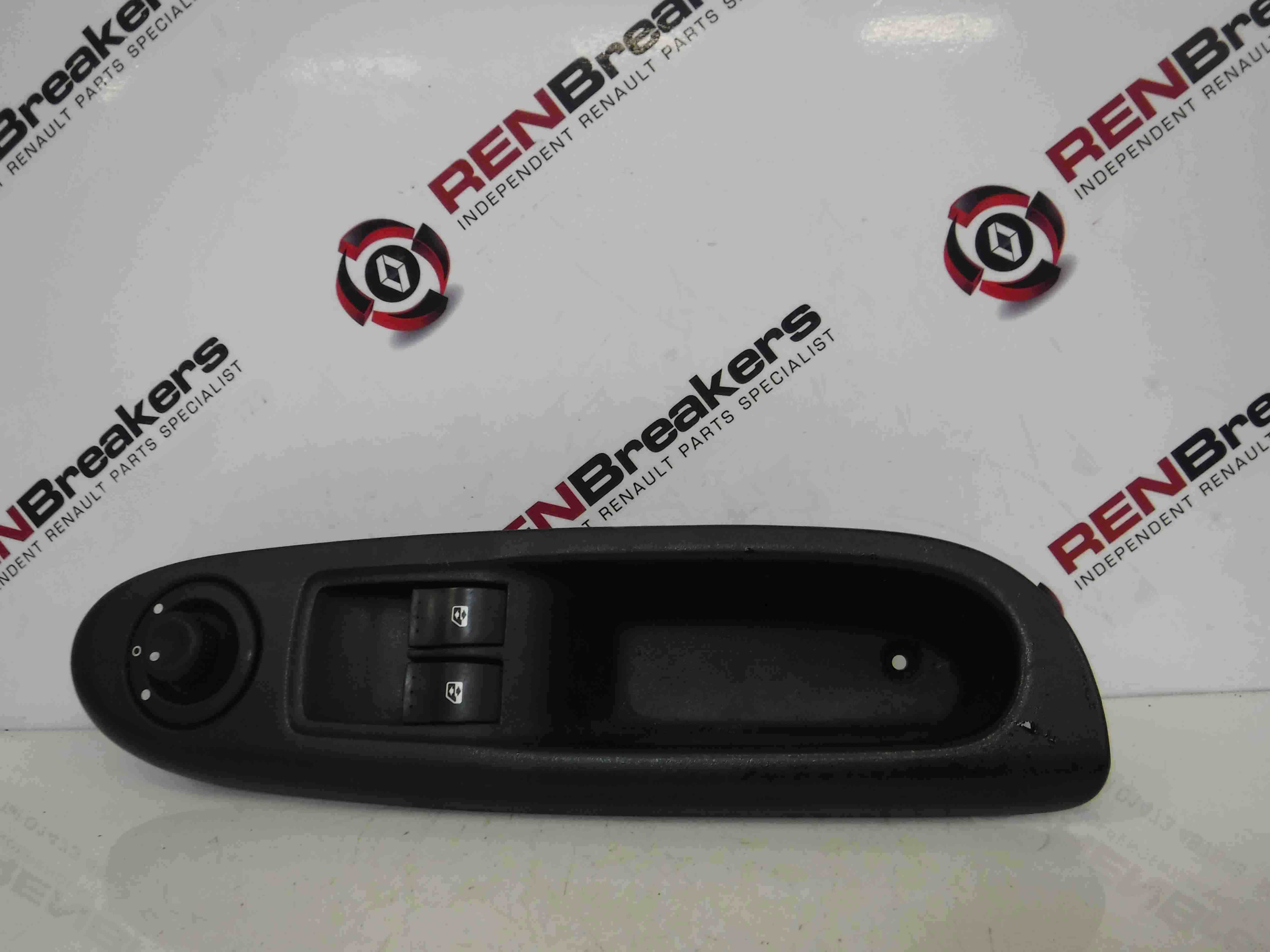Renault Clio MK2 2001-2006 Drivers OSF Front Window Switches + Panel 8200084012