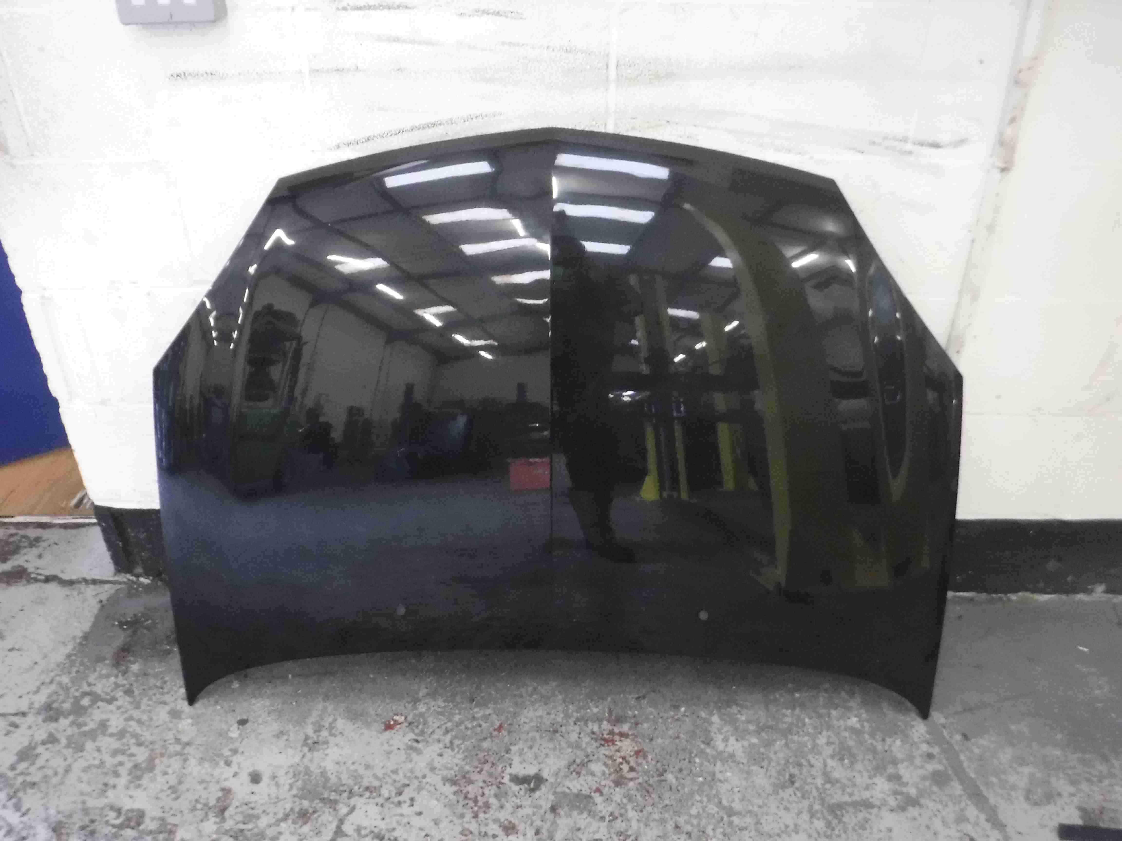 Renault Clio MK2 2001-2006 Front Bonnet Black 676 bonnet676mk2