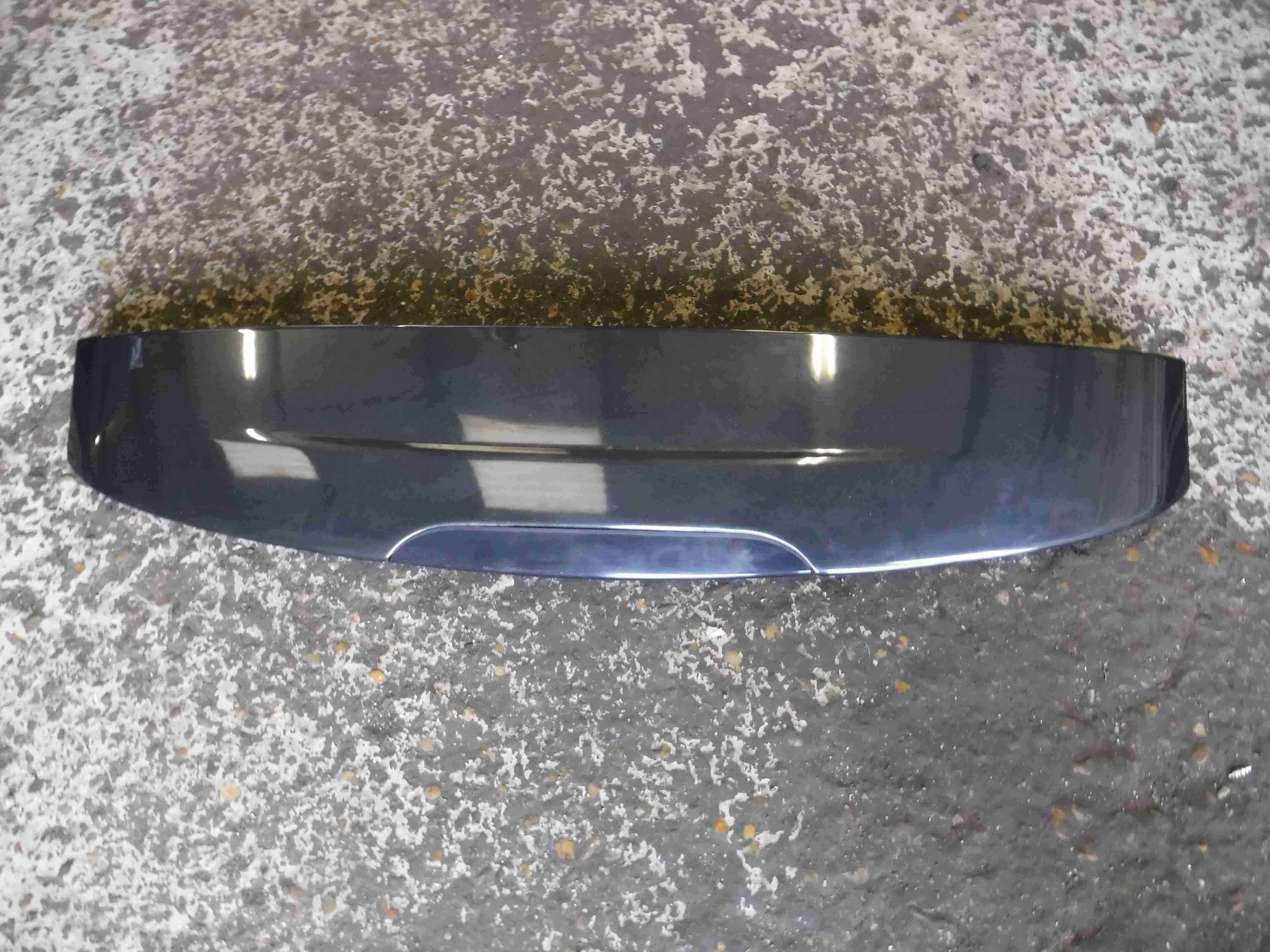 Renault Clio MK2 2001-2006 Rear Boot Tailgate Spoiler Black 676 7700427352