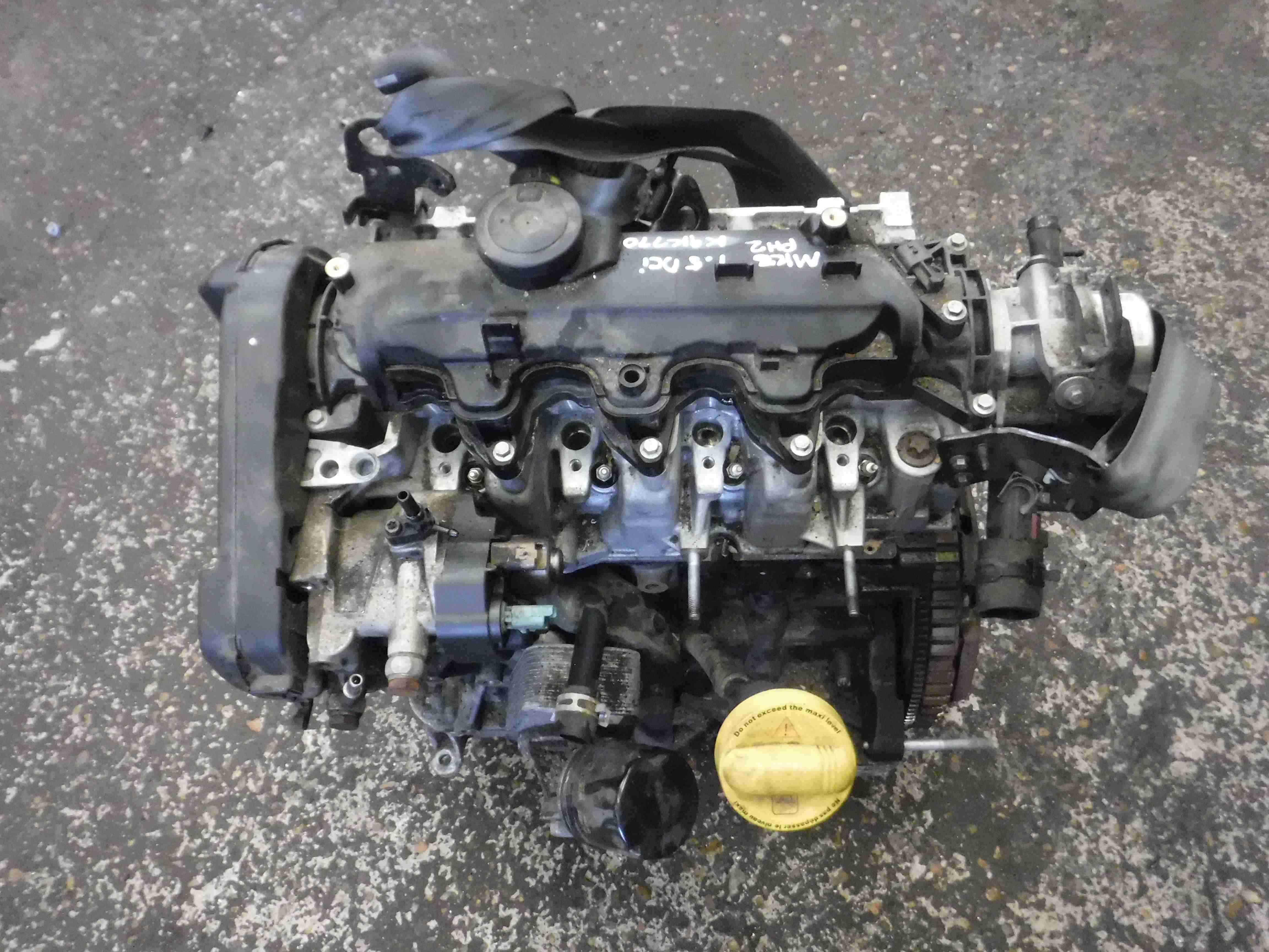 Renault Clio MK3 + Modus 2009-2012 1.5 dCi Engine K9K 770 K9K770