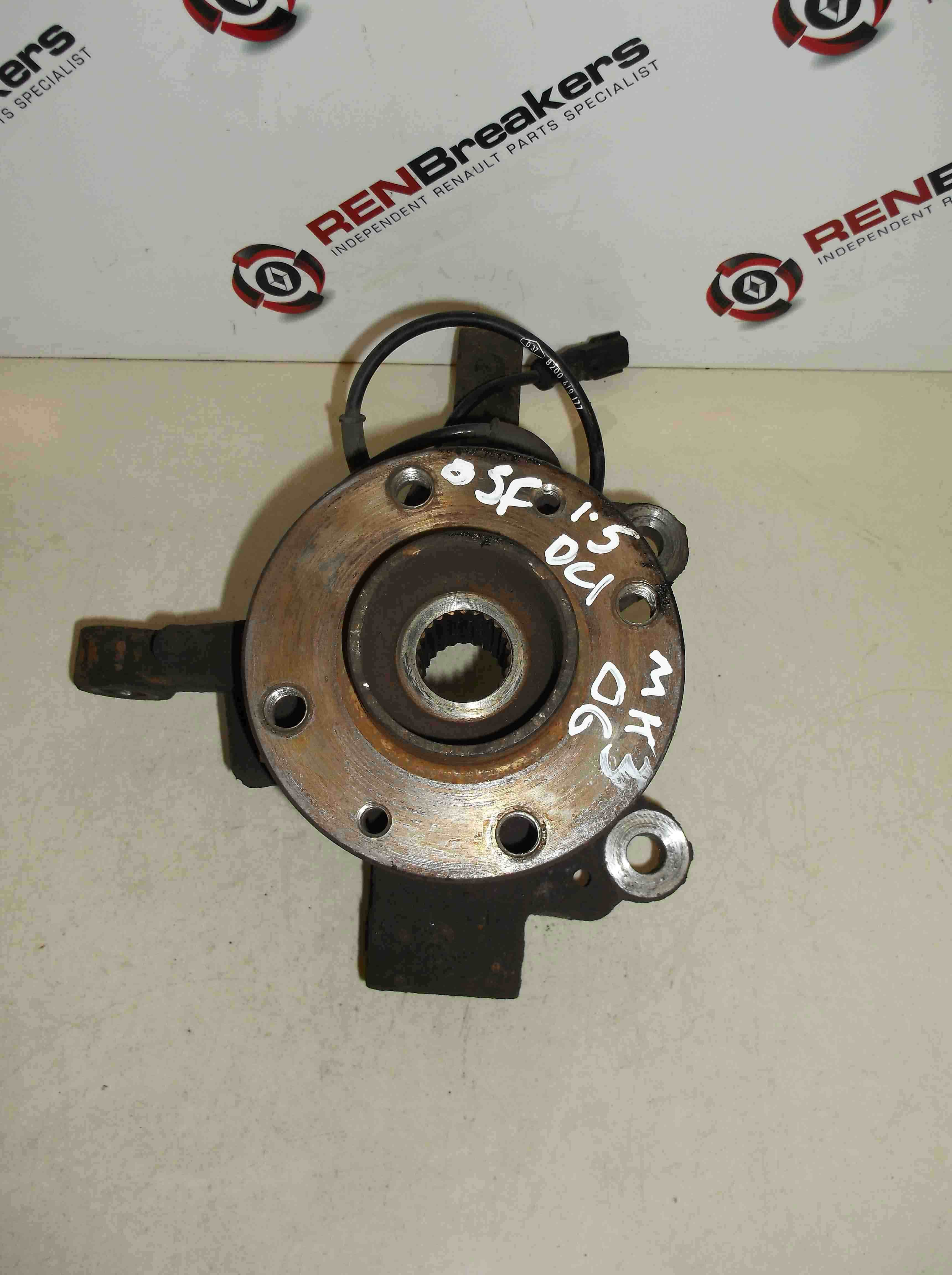 Renault Clio MK3 2005-2009  1.5 dCi Drivers OSF Front Hub ABS 5 speed
