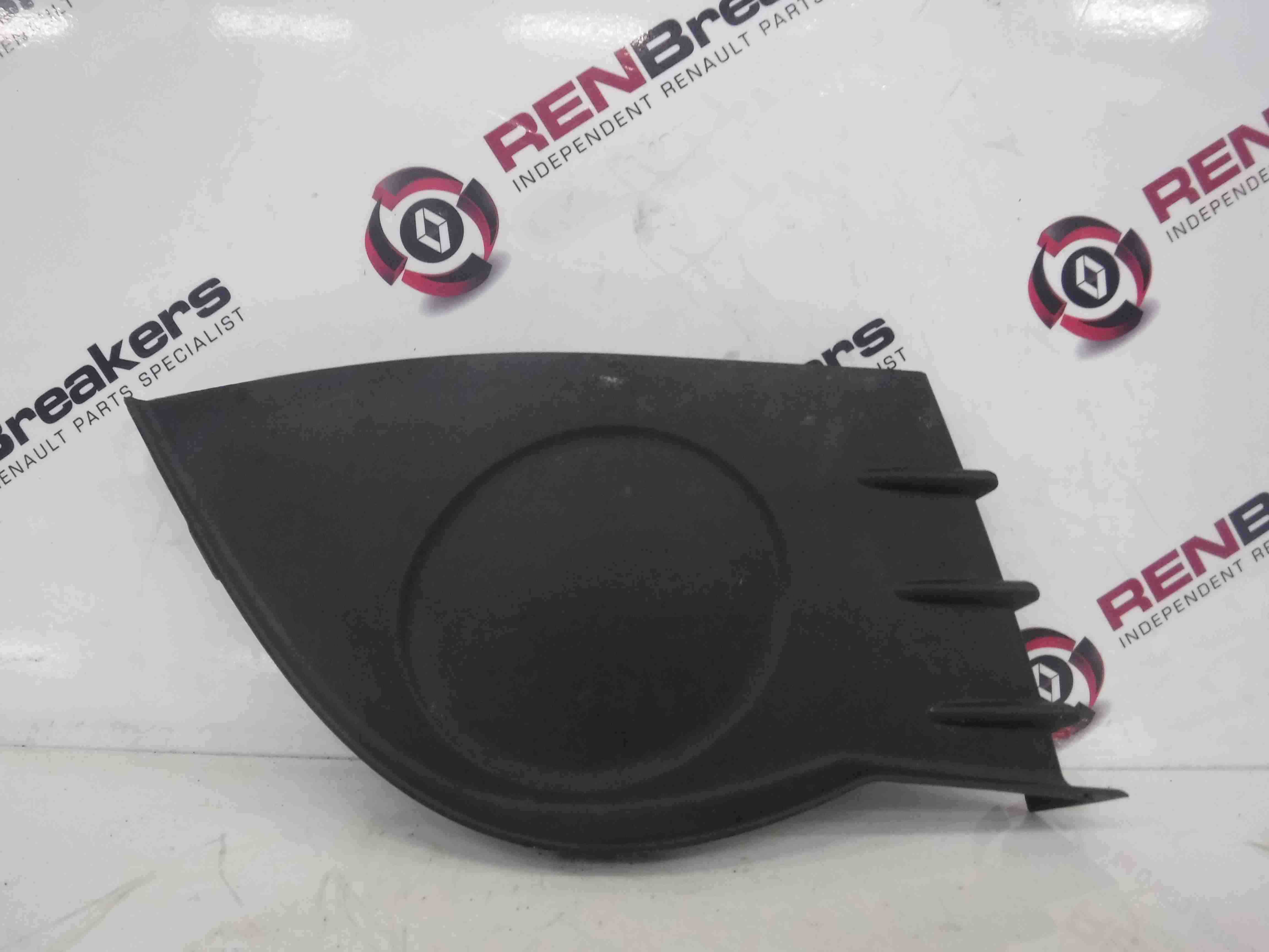 Renault Clio MK3 2005-2009 Drivers OSF Front Bumper Fog Light Cover Trim Insert