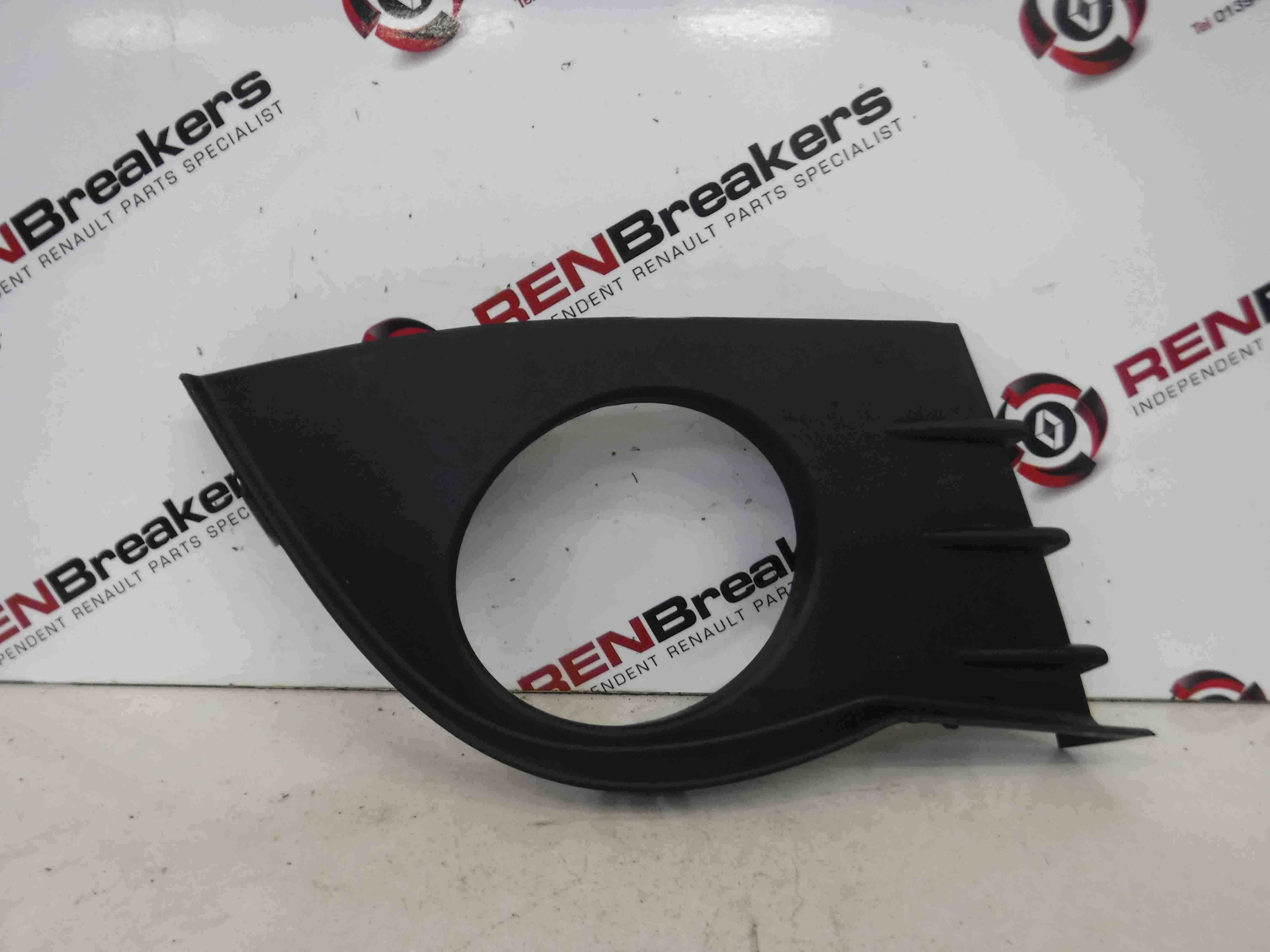 Renault Clio MK3 2005-2009 Drivers OSF Front Fog Light Surround Cover 8200682296