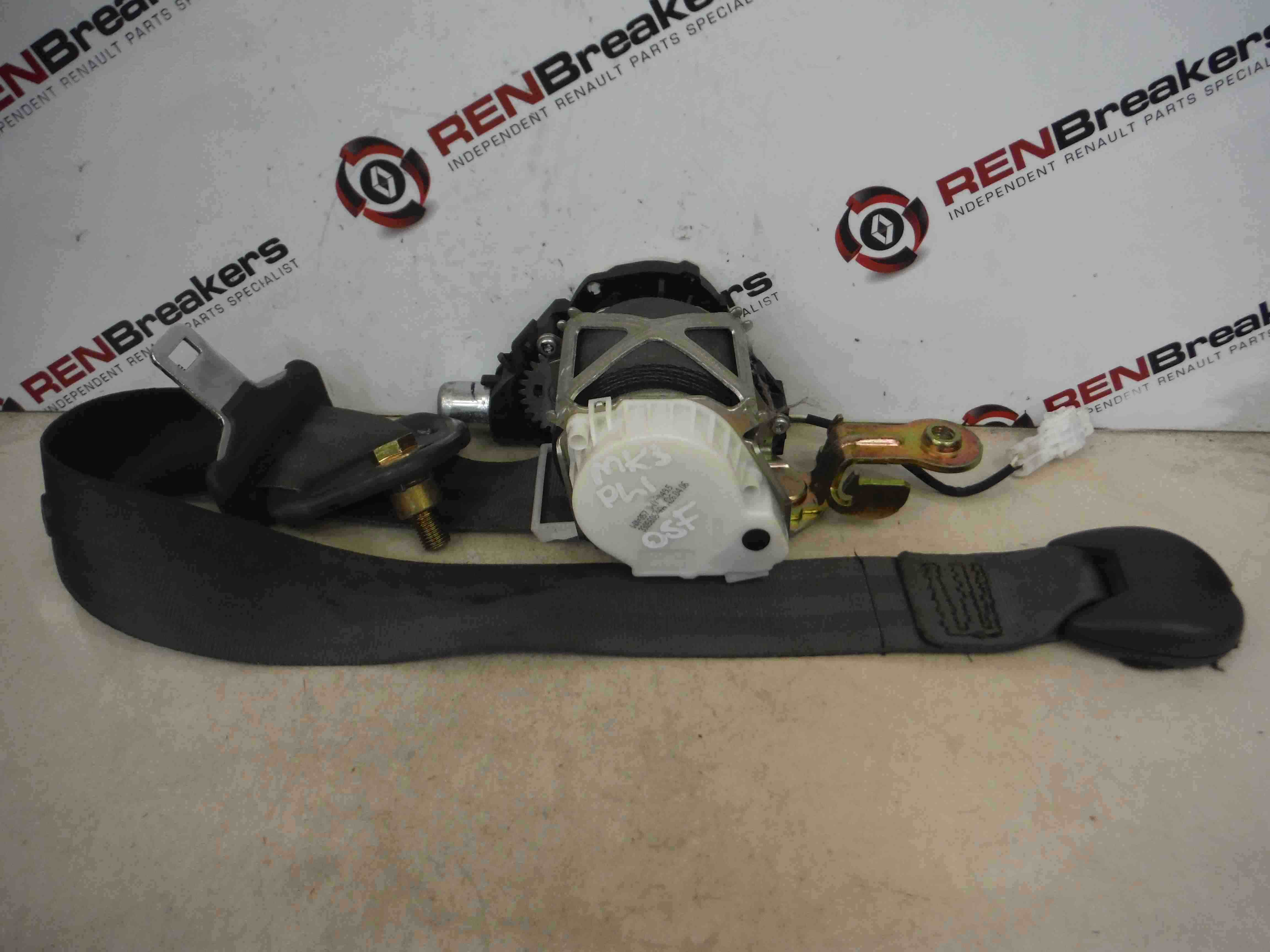 Renault Clio MK3 20052009 Drivers OSF Front Seat Belt 5dr